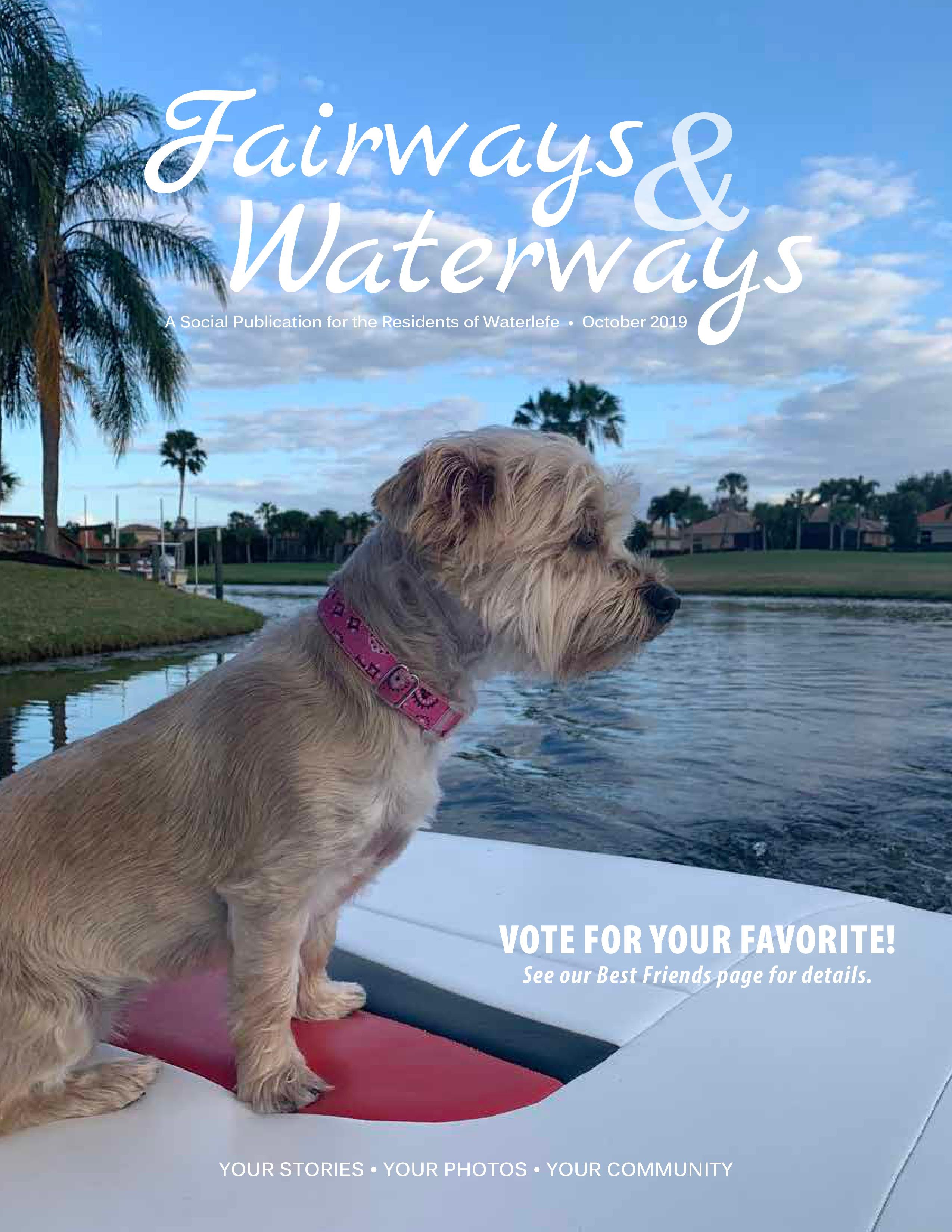 Oct 2019 fairways and waterways page 1