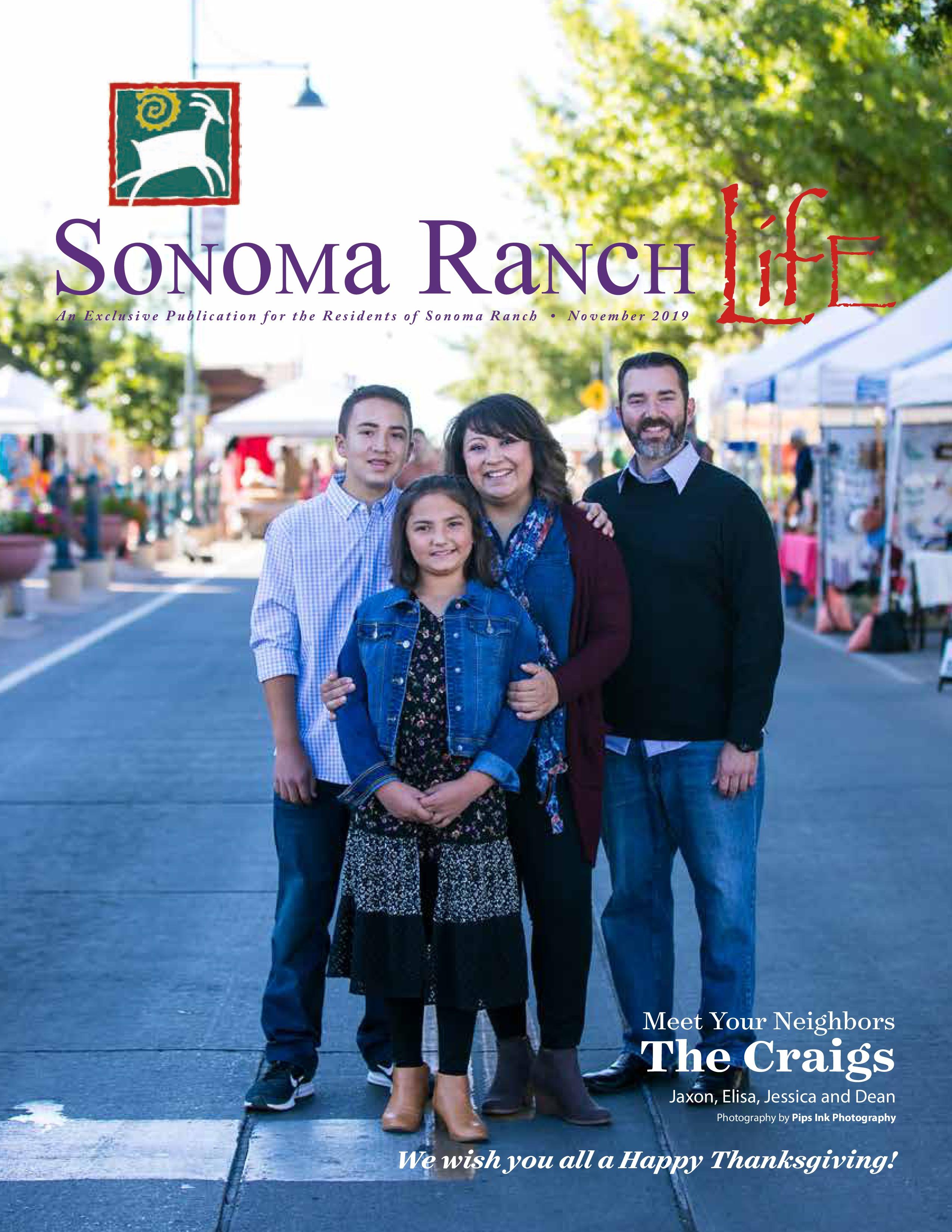 Nov 2019 sonoma ranch life page 1