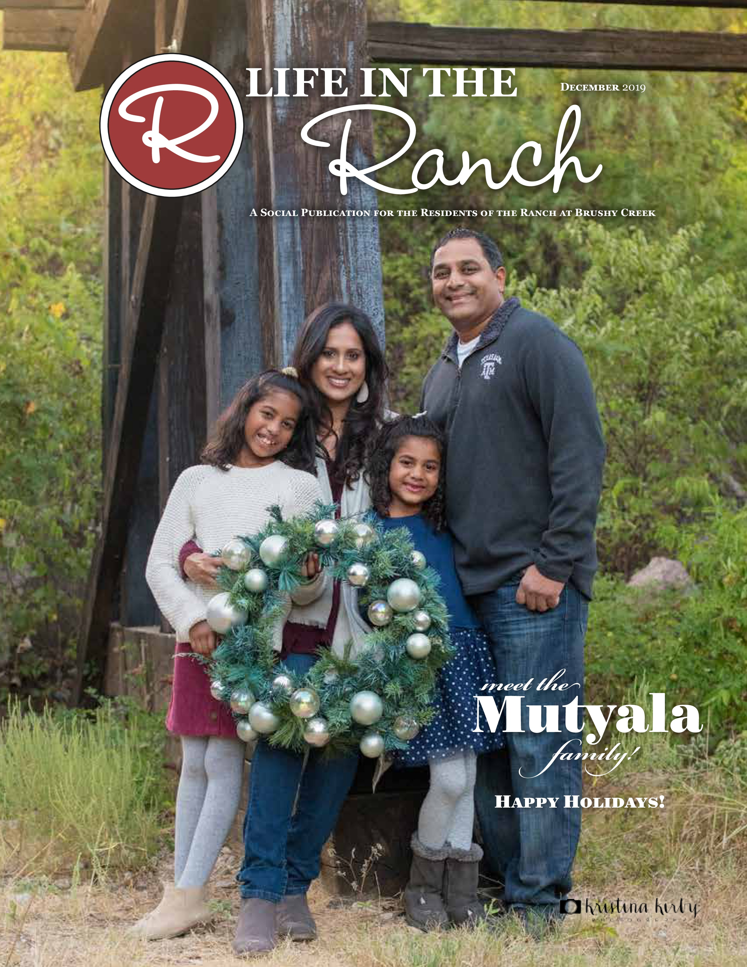 Dec 2019 life in the ranch page 1