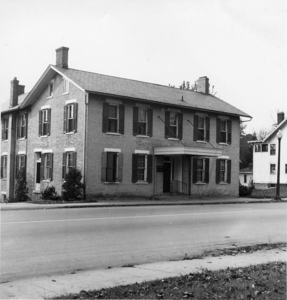 The Stoner House where George Stoner lived.