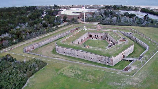 Fort Macon. Photo courtesy of the North Carolina History Project.