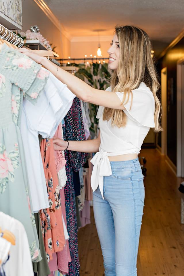 Cote co-owner, Andie Fuller, always has a store full of the latest fashion trends.