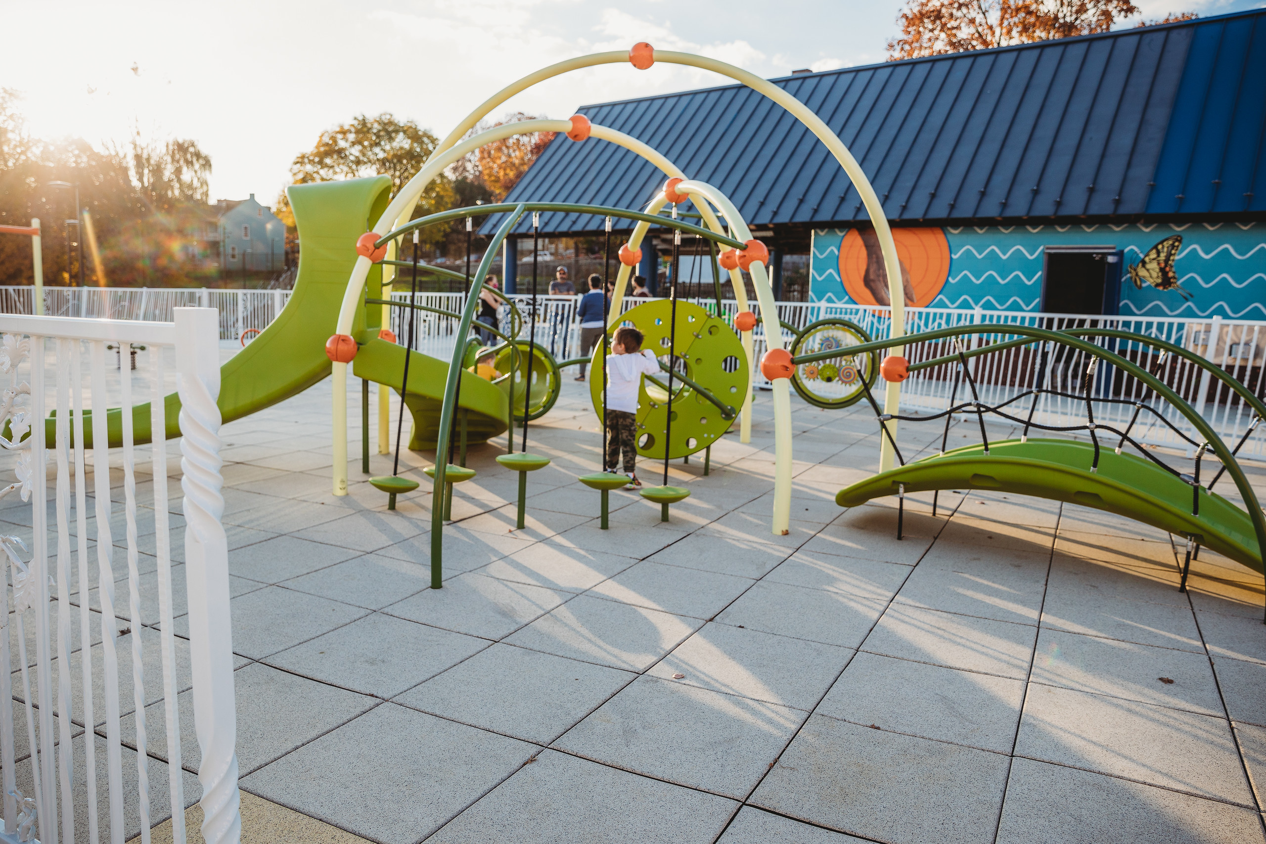 The newly renovated Culliton Park in Lancaster City. Photo by Michelle Johnsen Photography