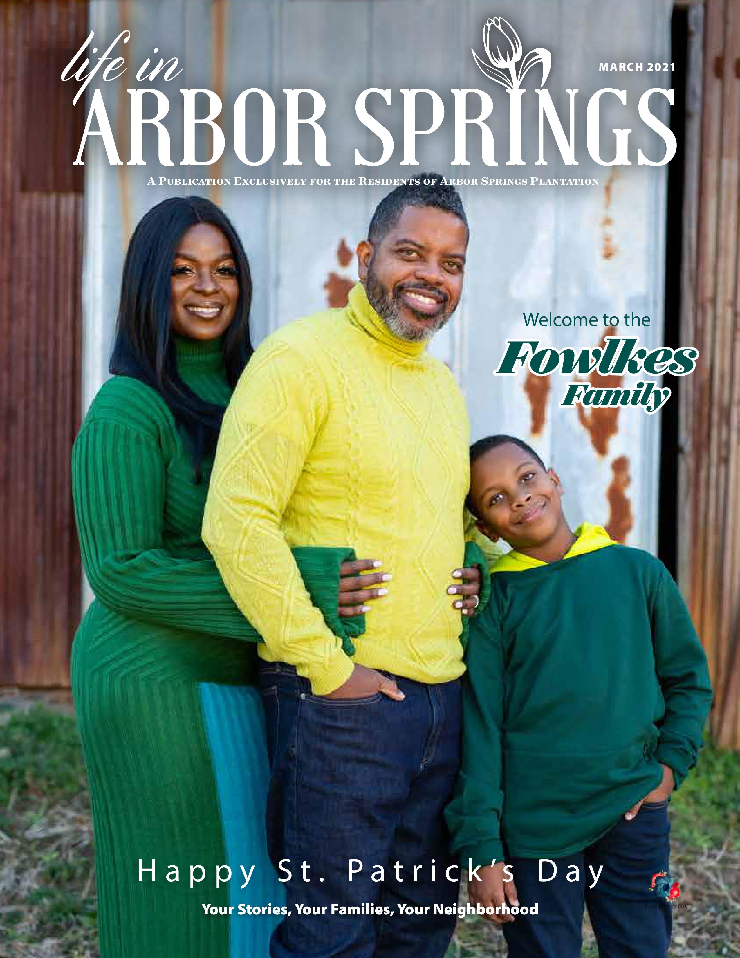 Life in Arbor Springs 2021-03-01