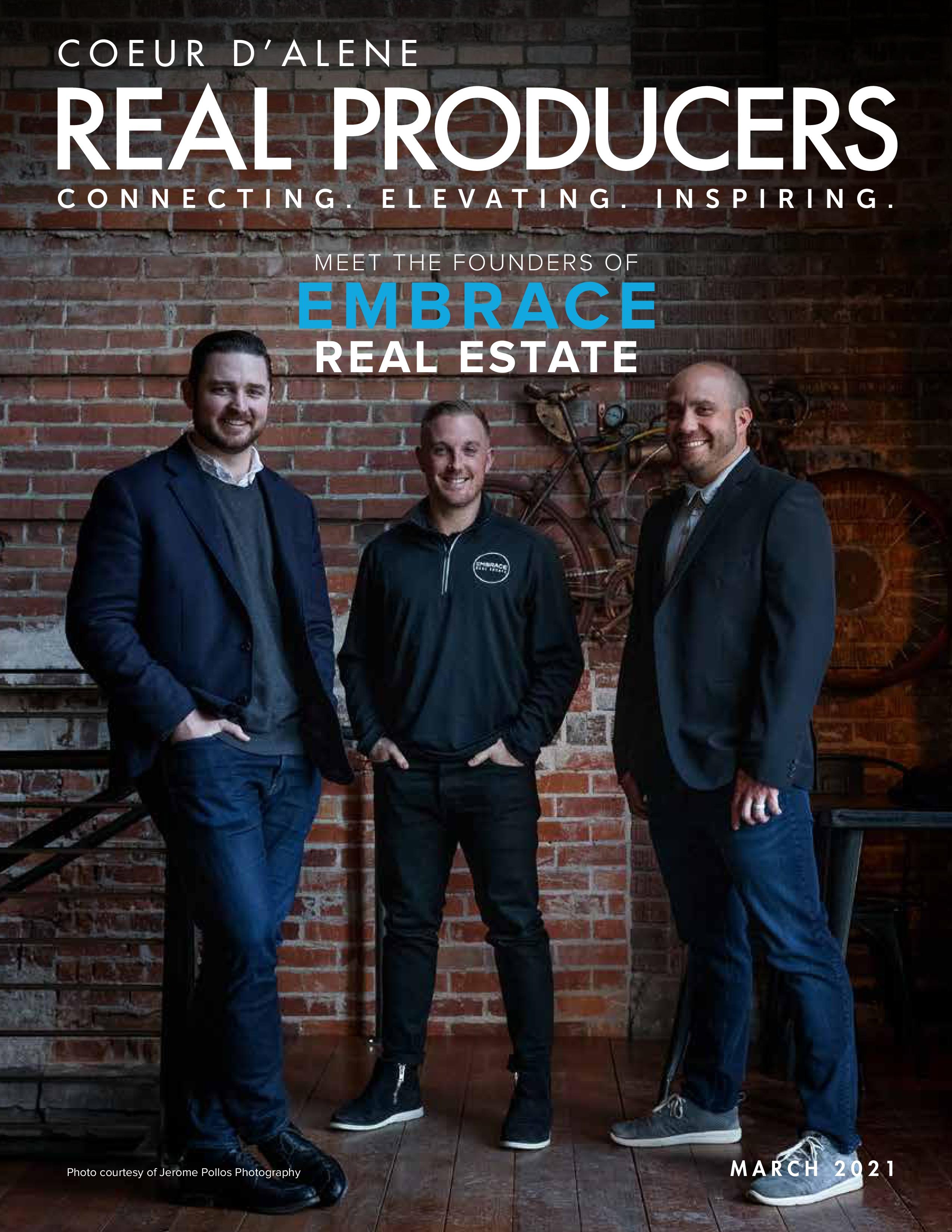 Coeur D'Alene Real Producers 2021-03-01