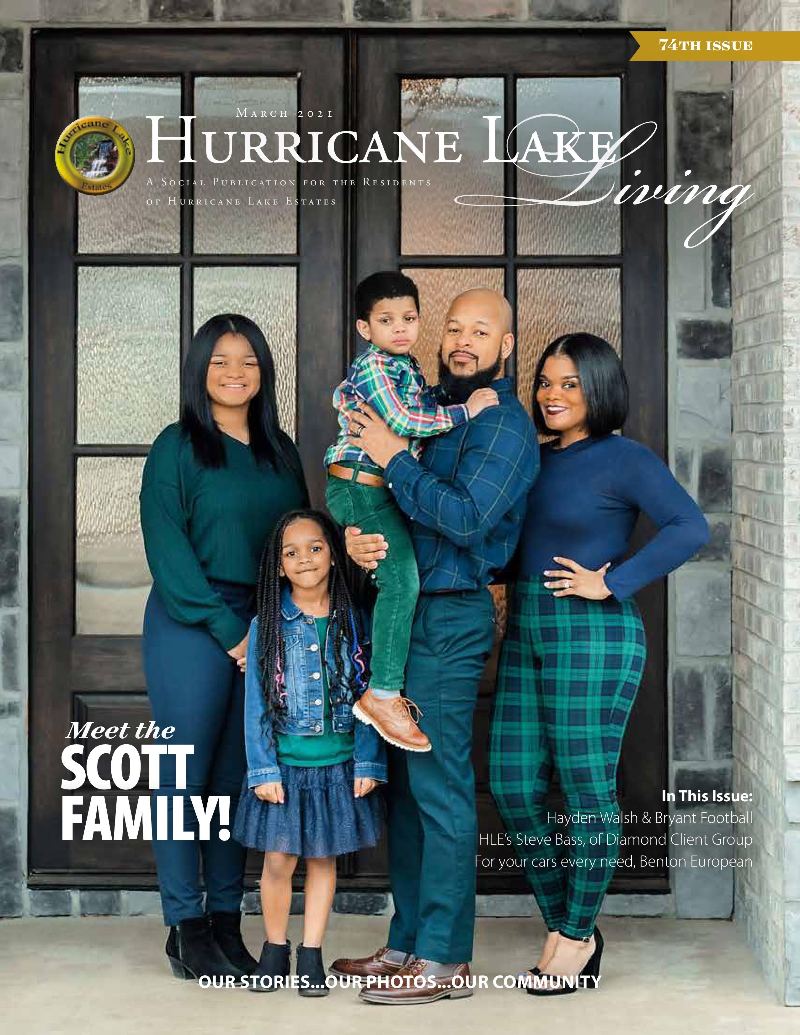 Hurricane Lake Living 2021-03-01