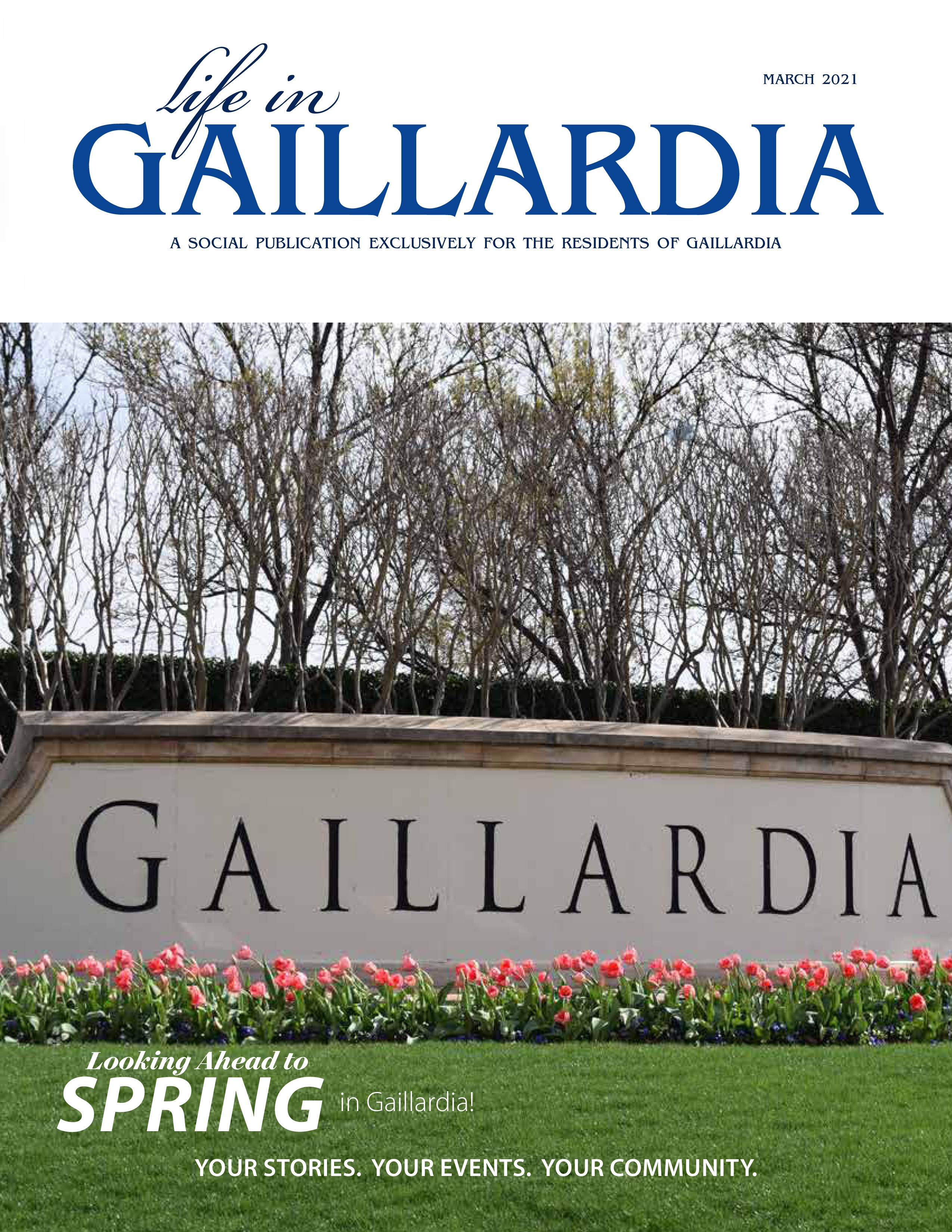 Life in Gaillardia 2021-03-01