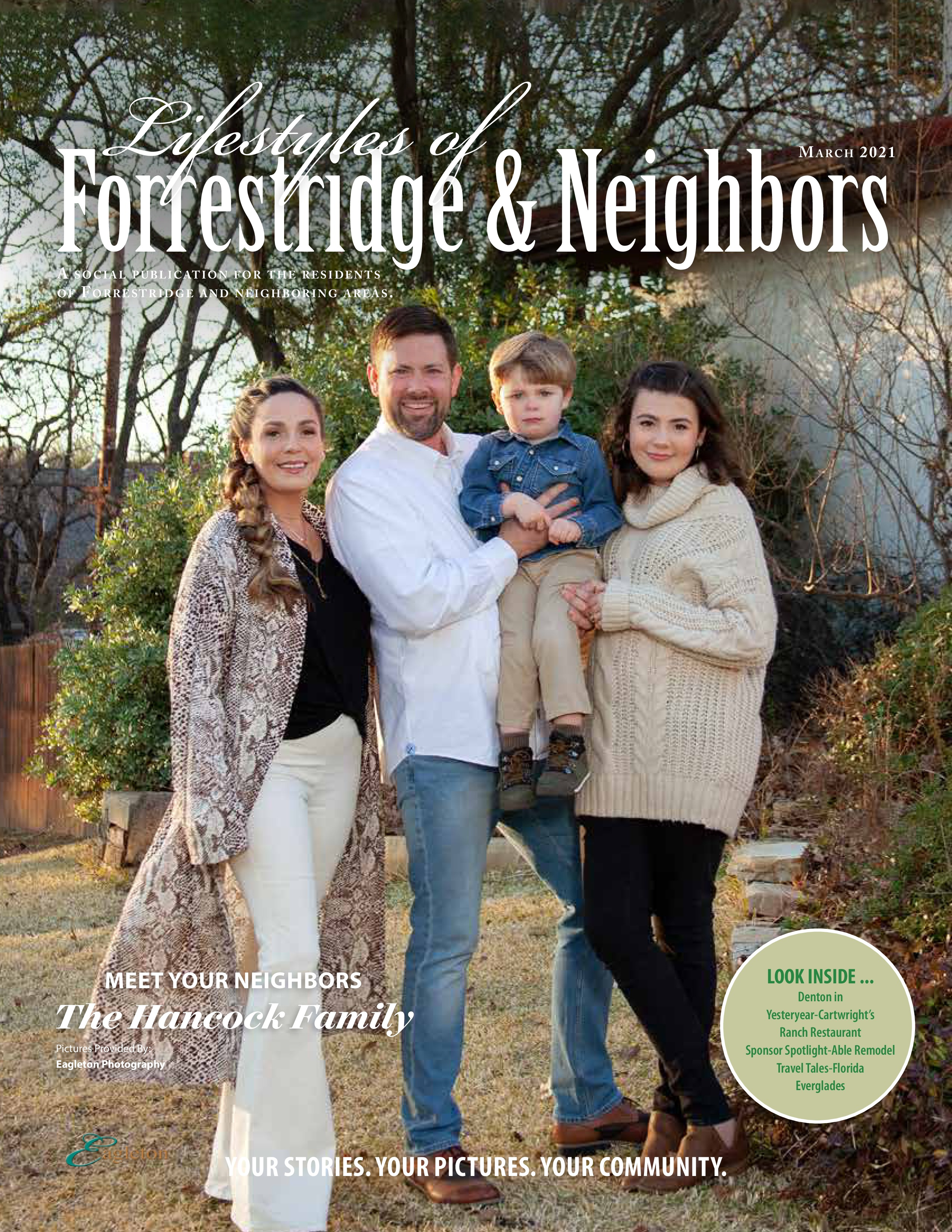 Lifestyles of Forrestridge and Neighbors 2021-03-01