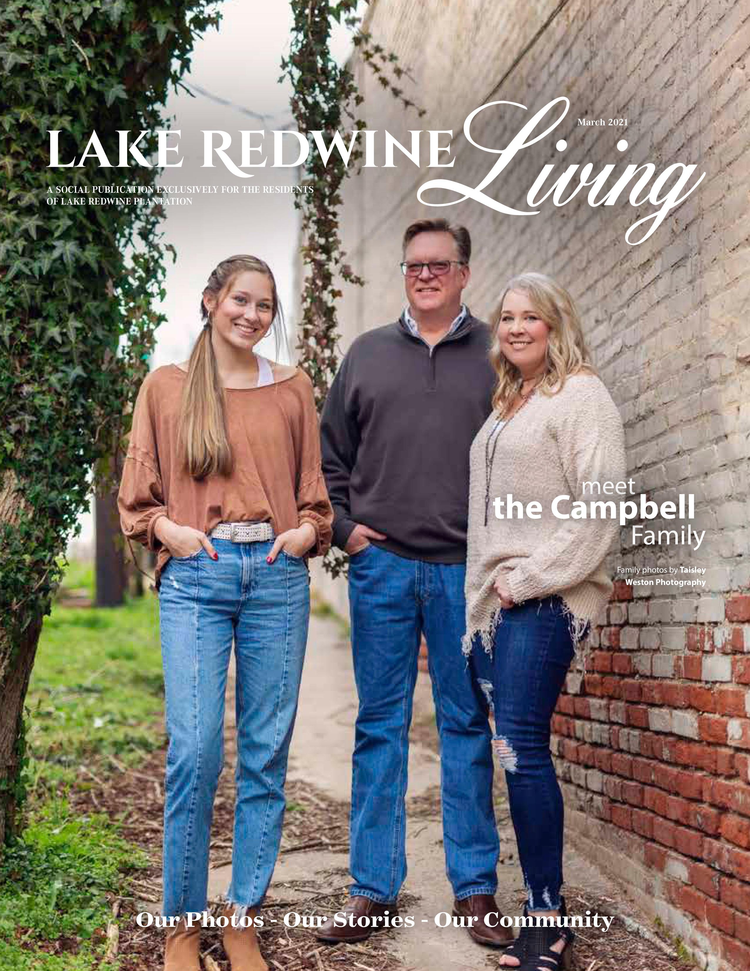 Lake Redwine Living 2021-03-01