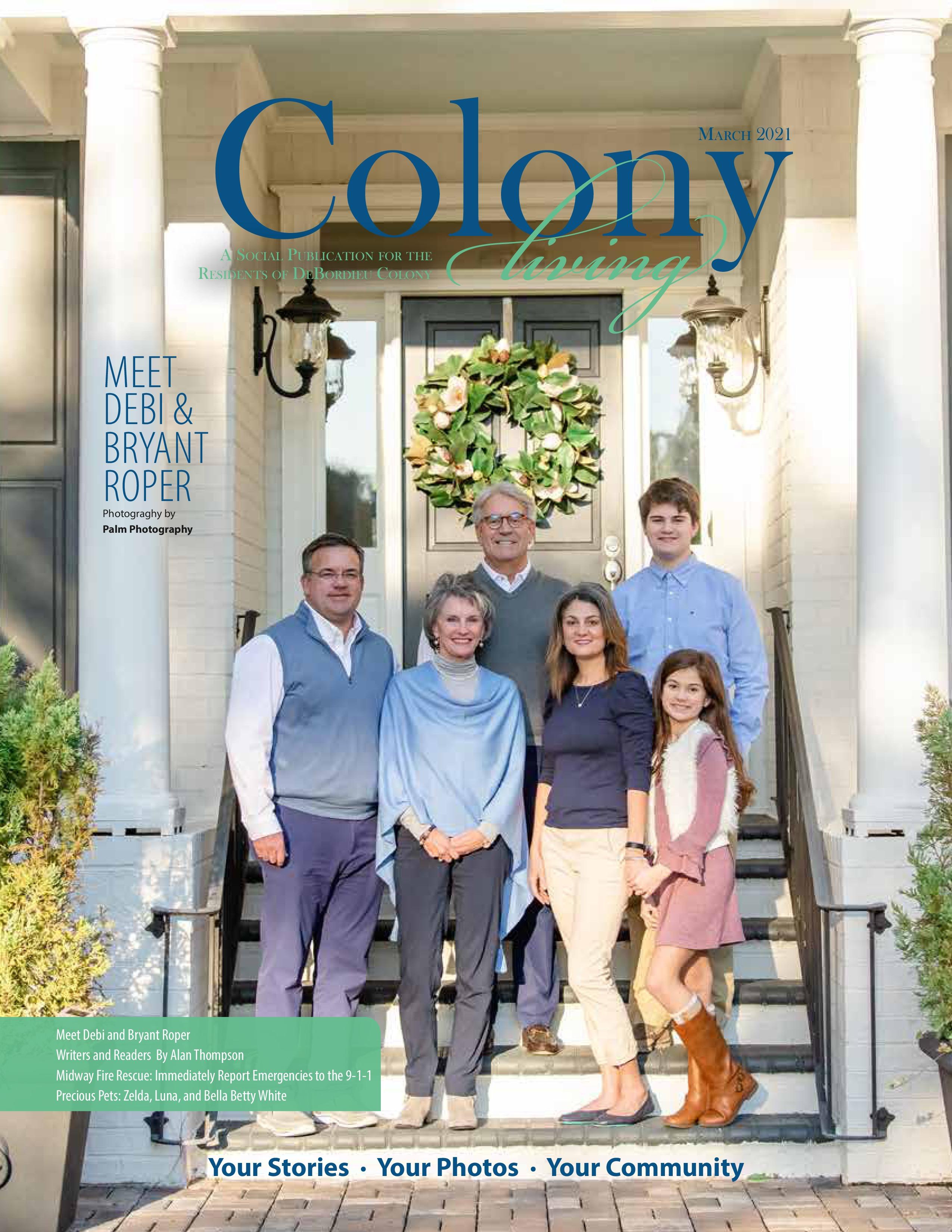 Colony Living 2021-03-01