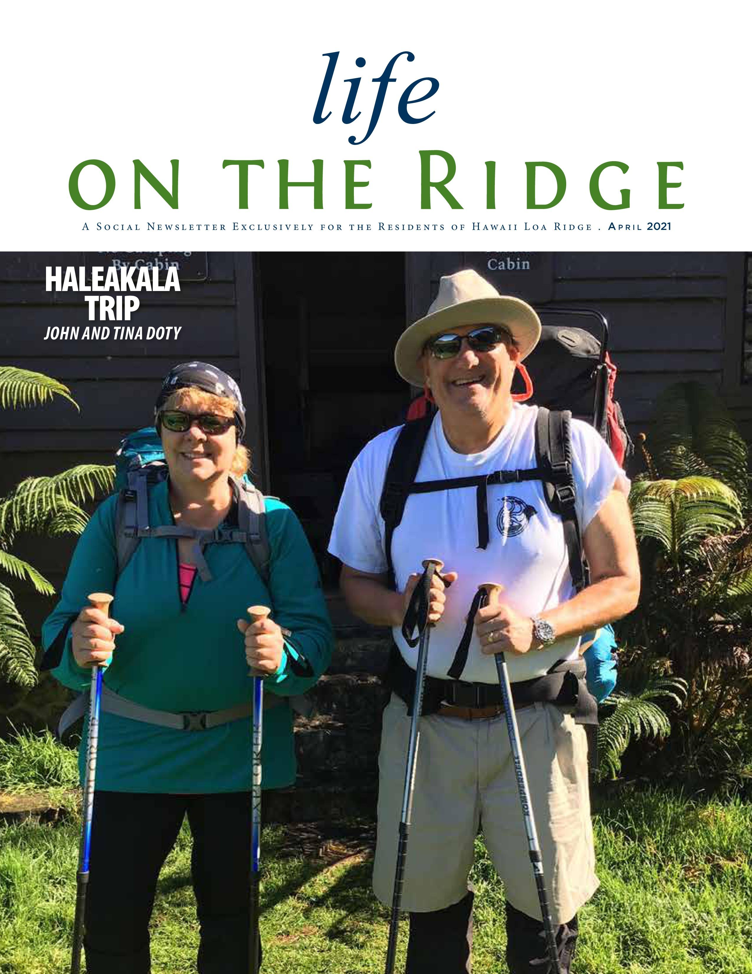 Life on the Ridge 2021-04-01