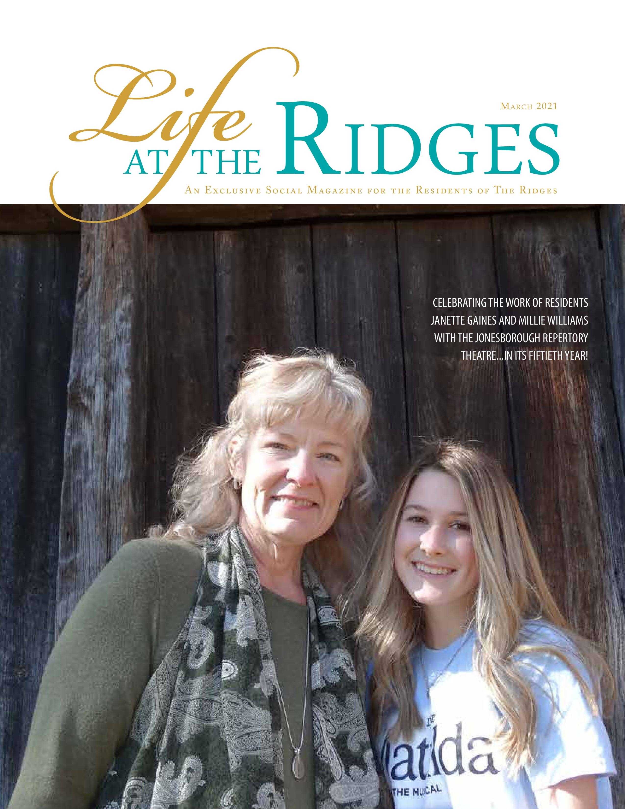 Life at the Ridges 2021-03-01