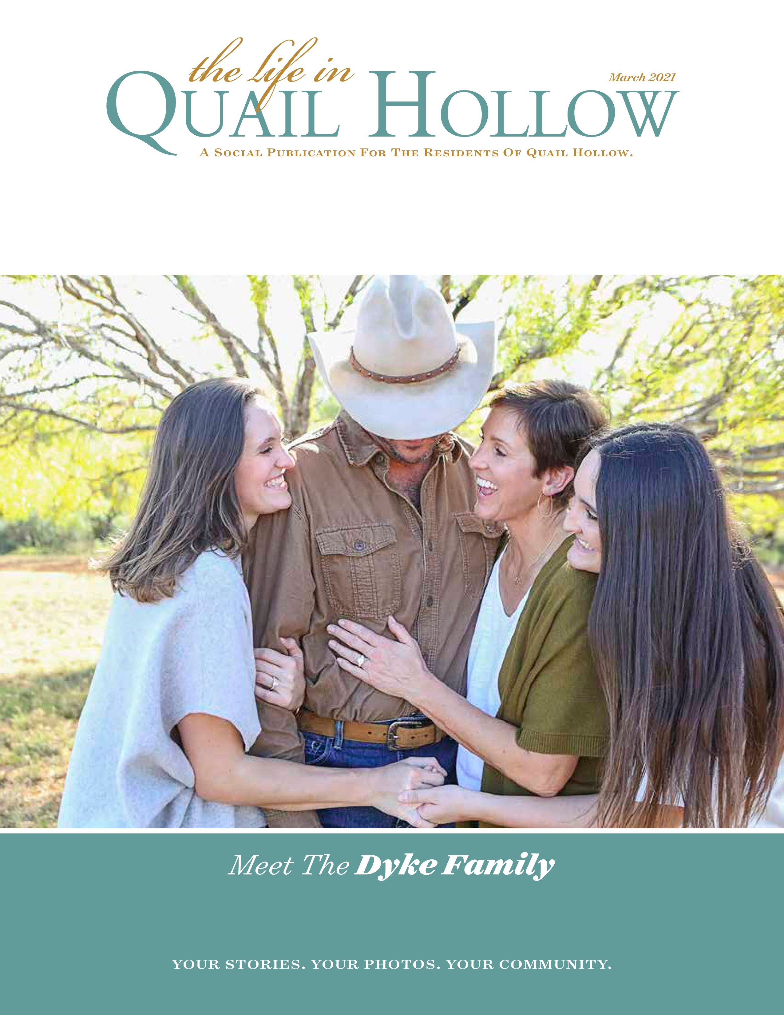The Life in Quail Hollow 2021-03-01