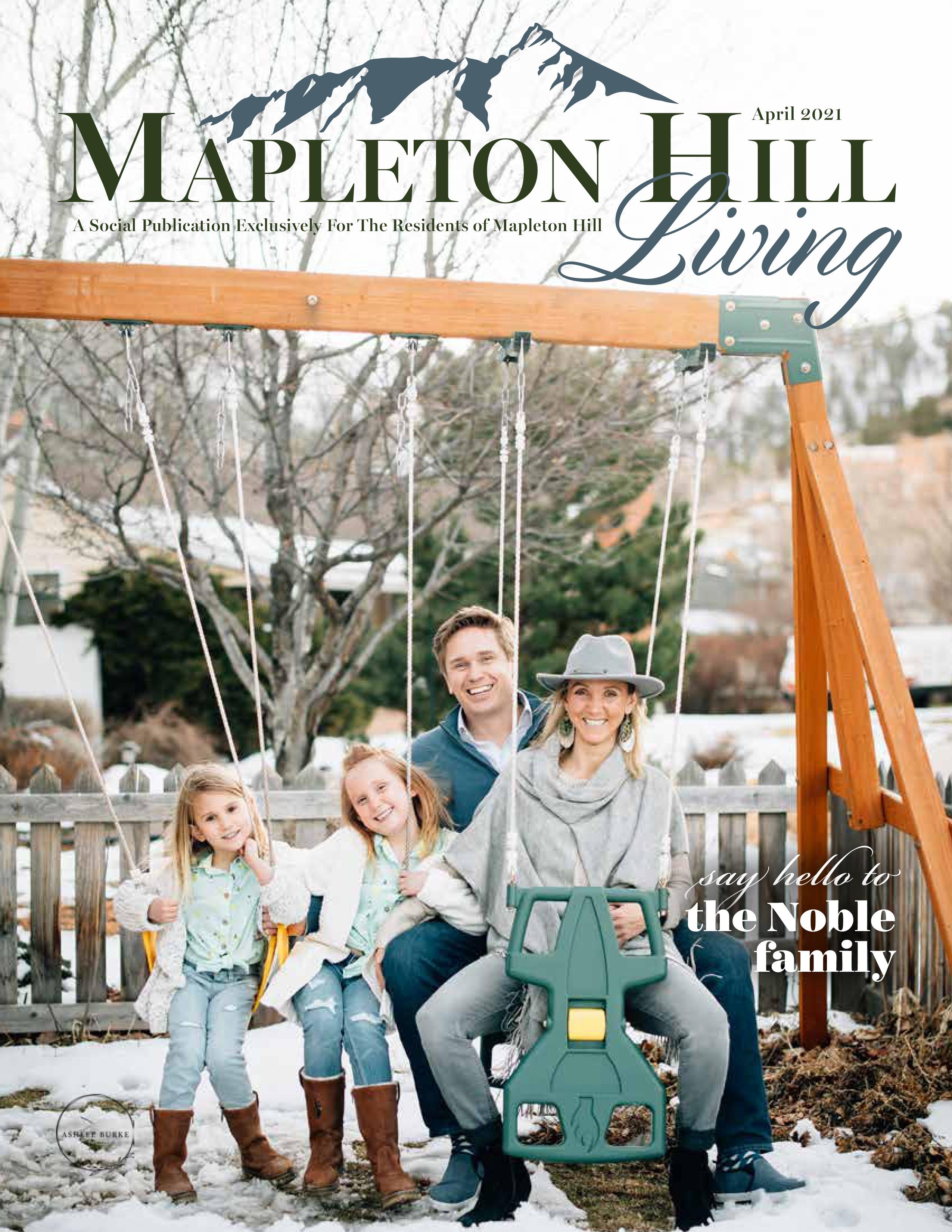 Mapleton Hill Living 2021-04-01