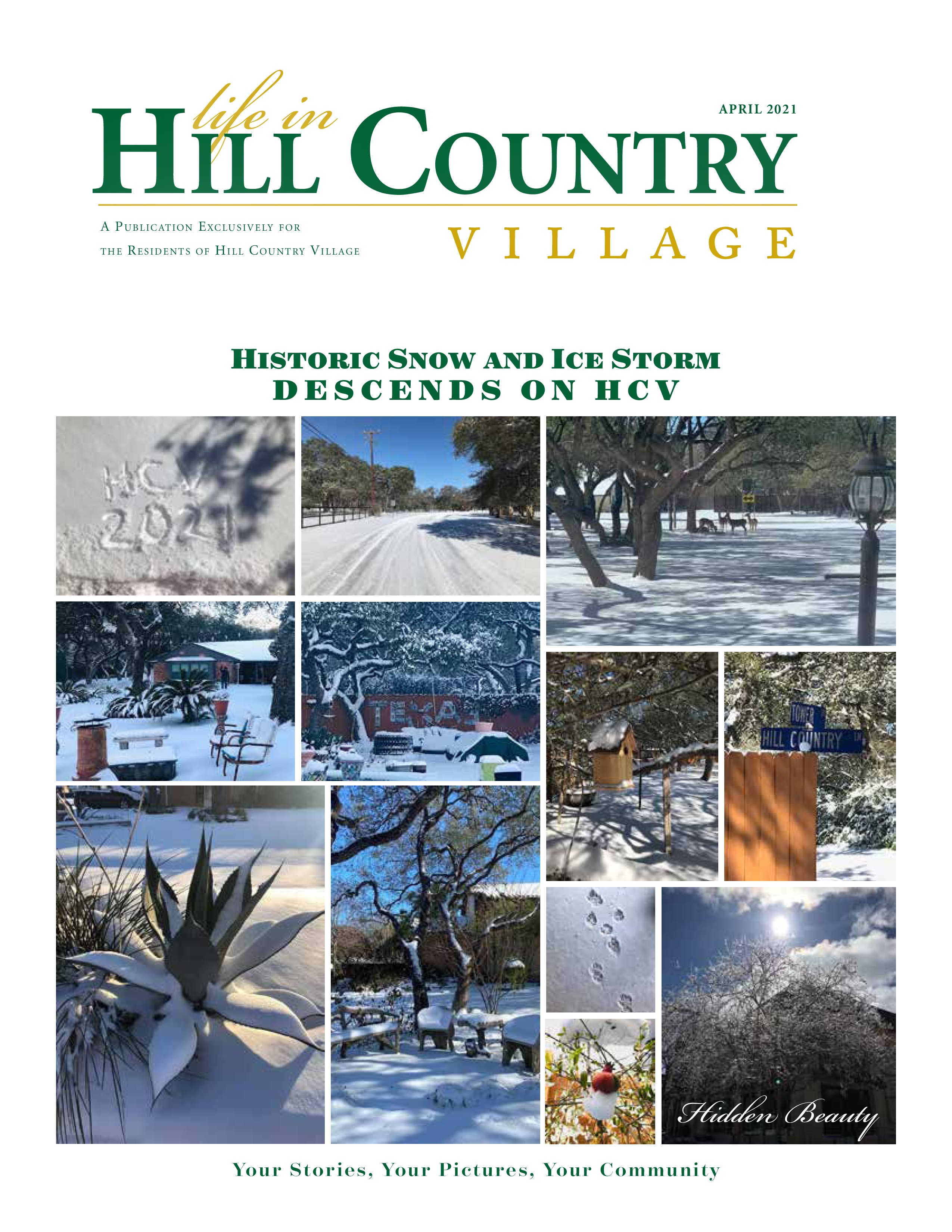 Life in Hill Country Village 2021-04-01