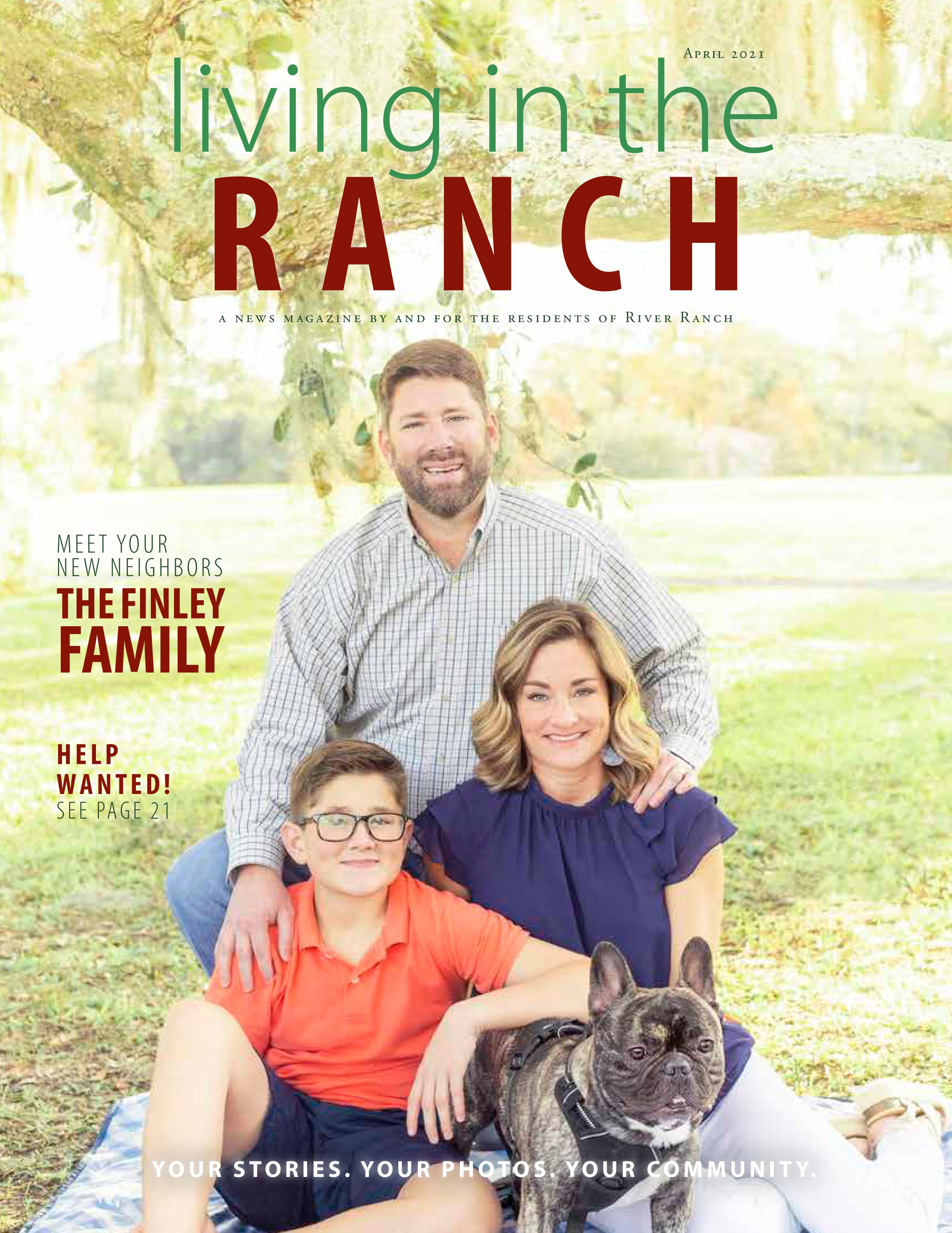 Living in the Ranch 2021-04-01