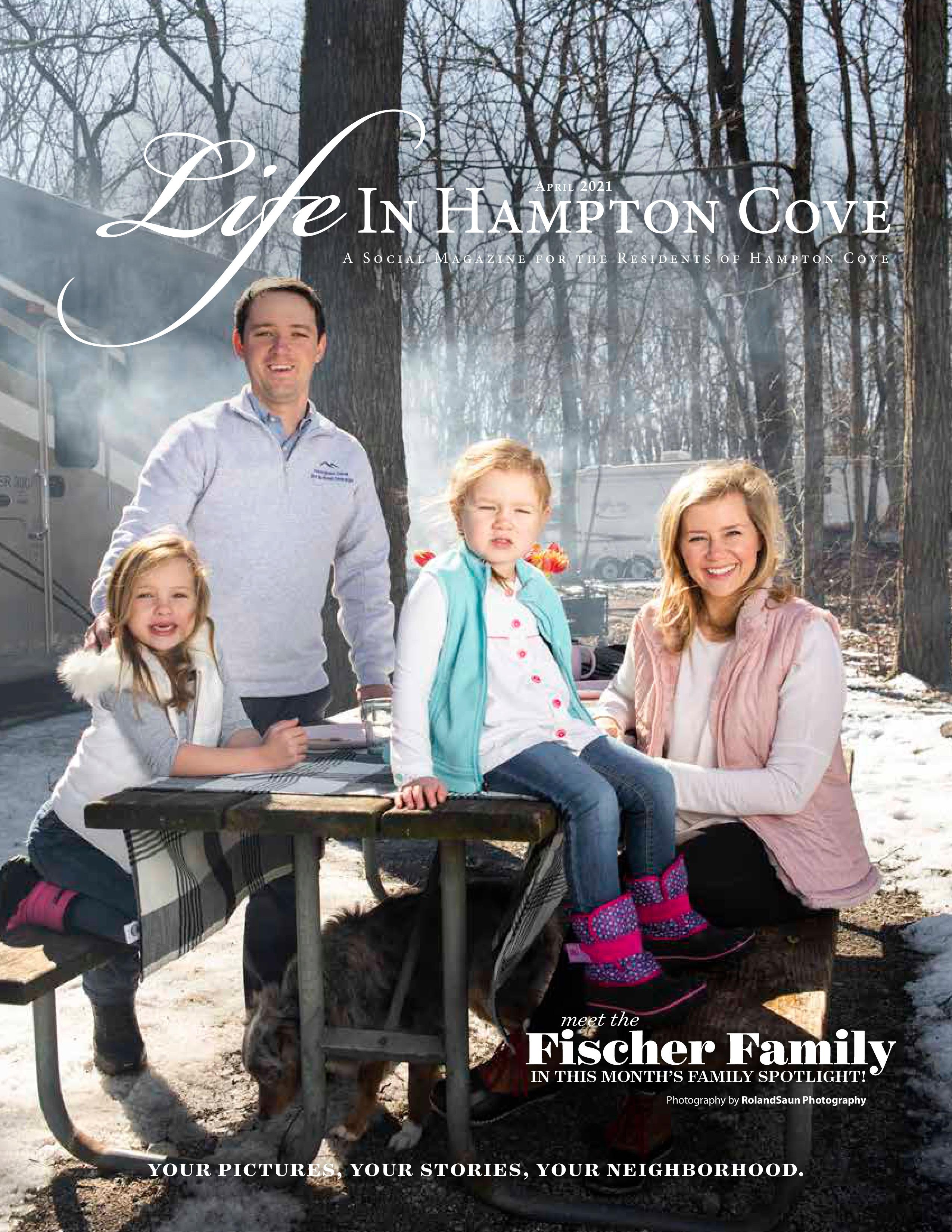 Life in Hampton Cove 2021-04-01