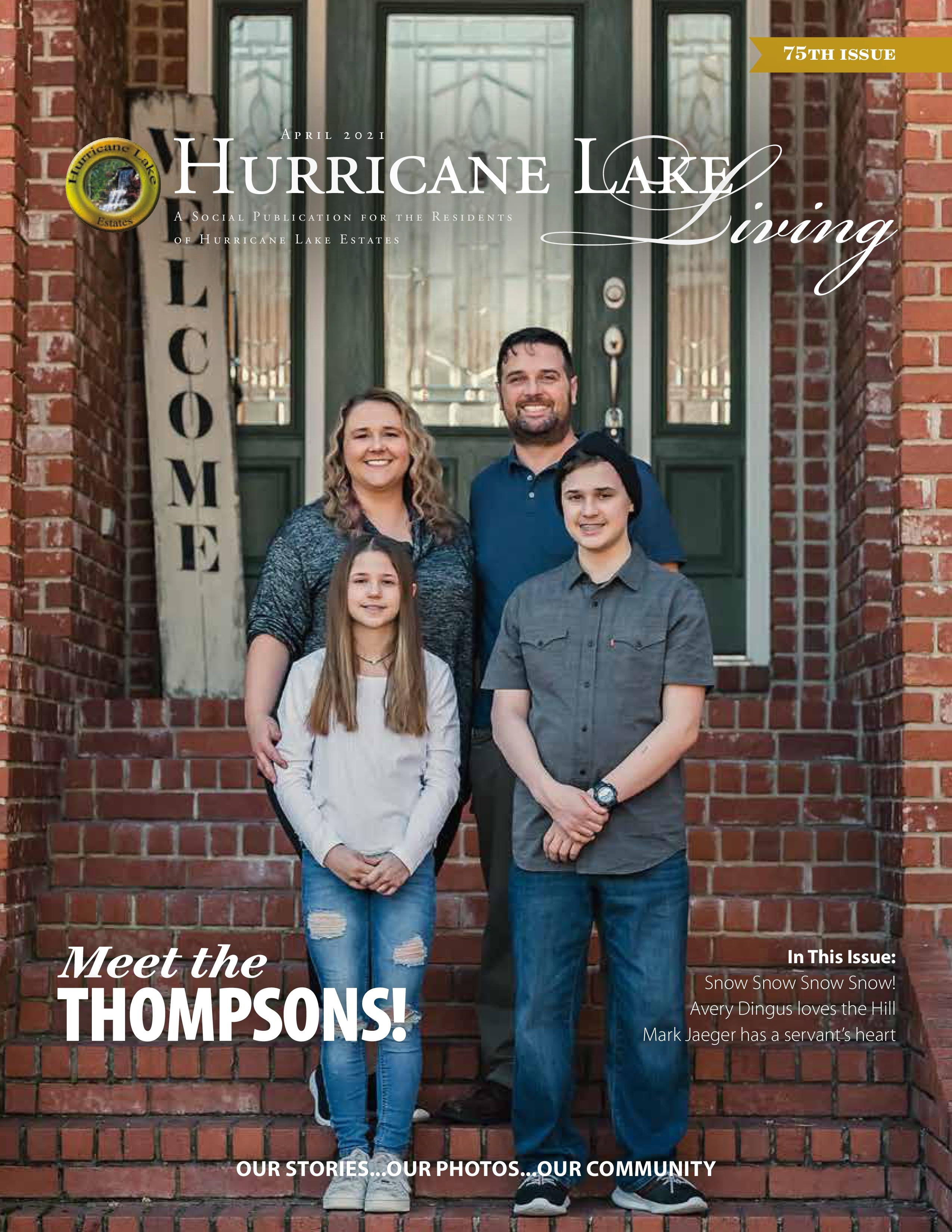 Hurricane Lake Living 2021-04-01