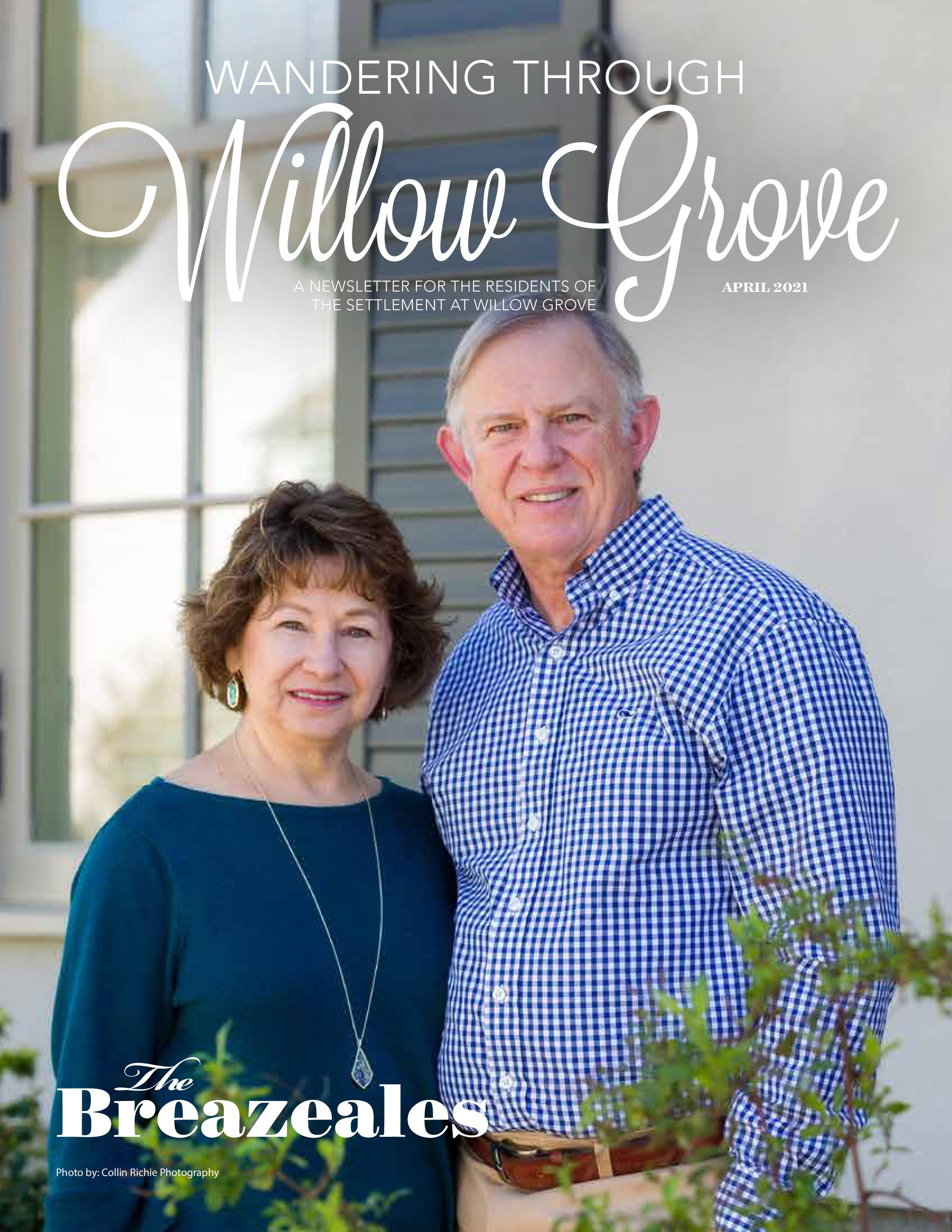 Wandering Through Willow Grove 2021-04-01