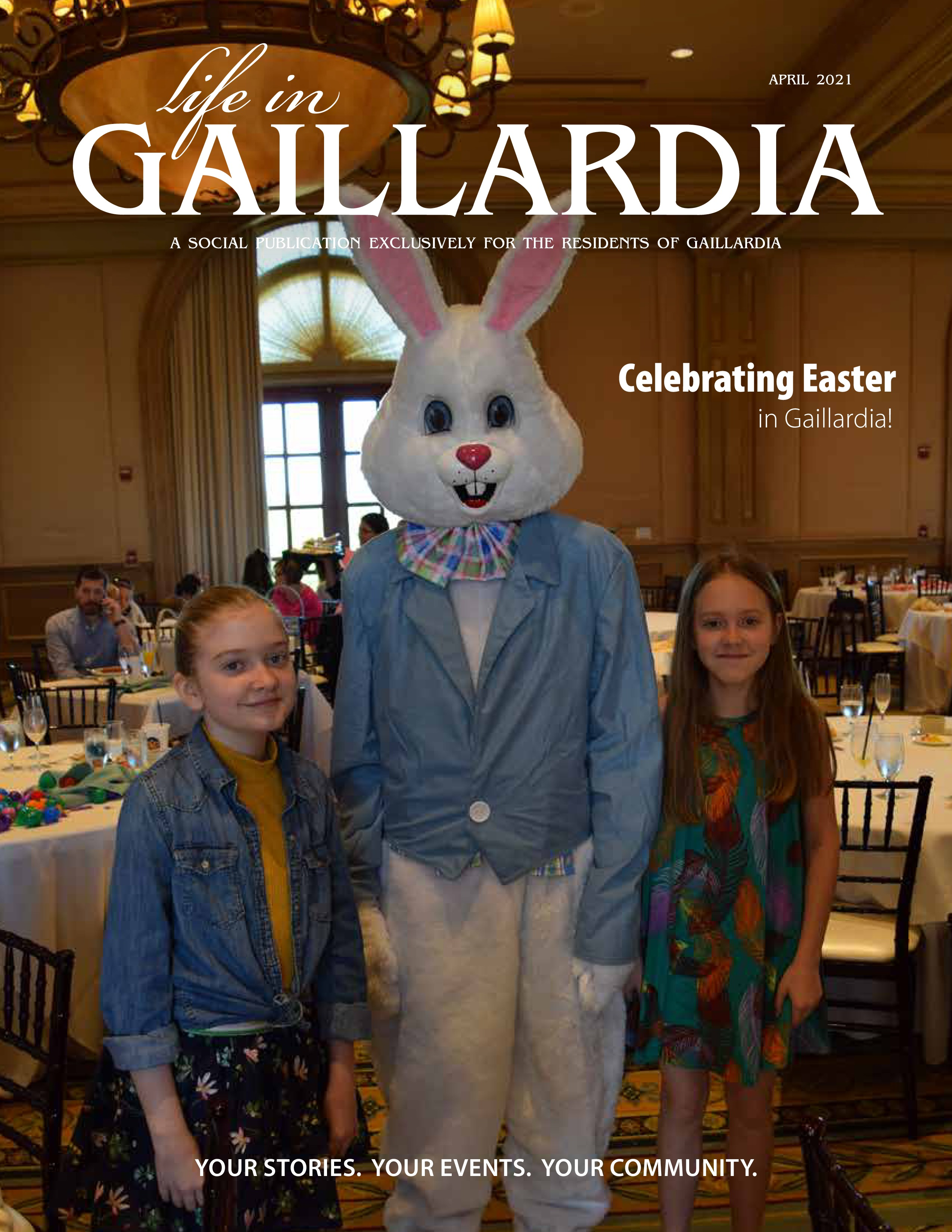Life in Gaillardia 2021-04-01
