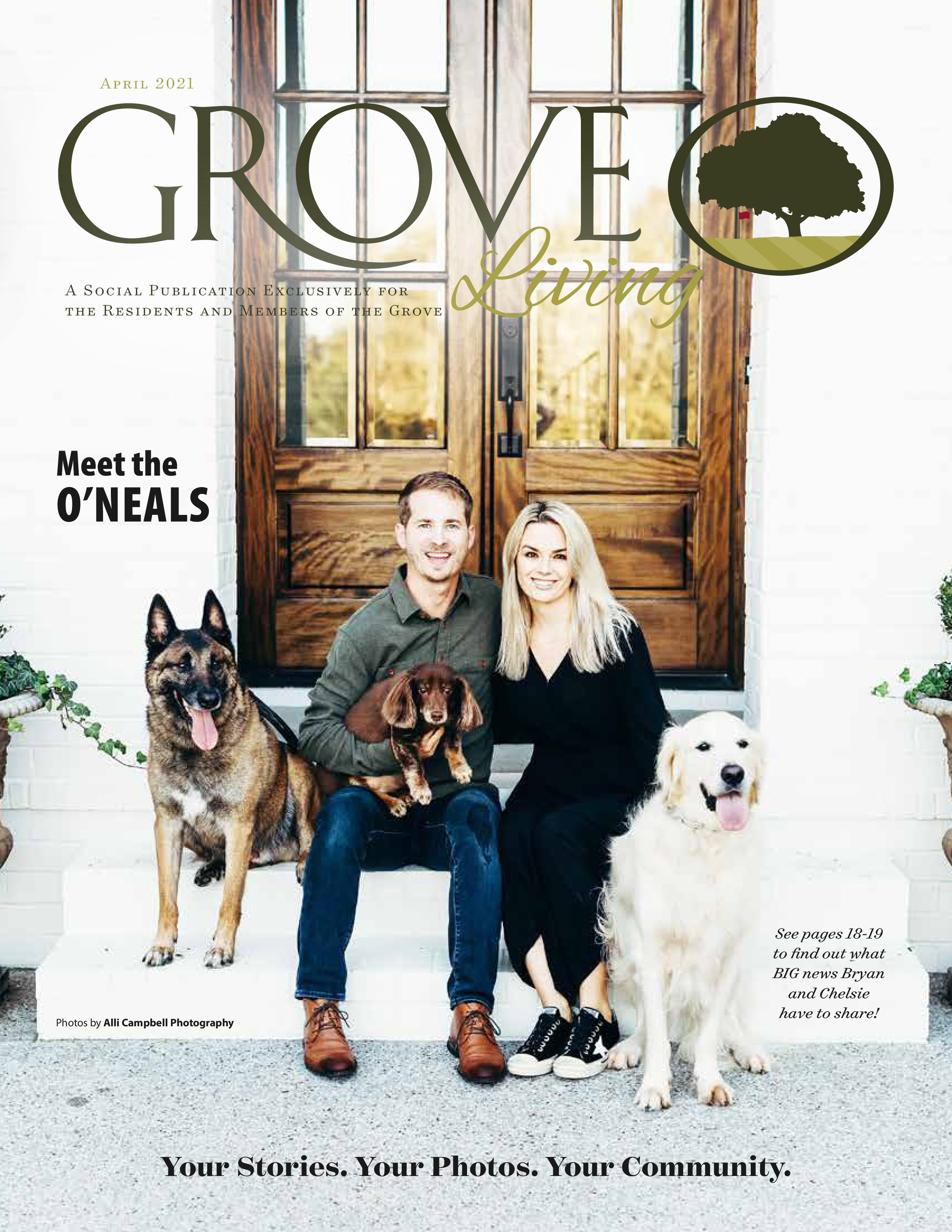 Life at the Grove 2021-04-01