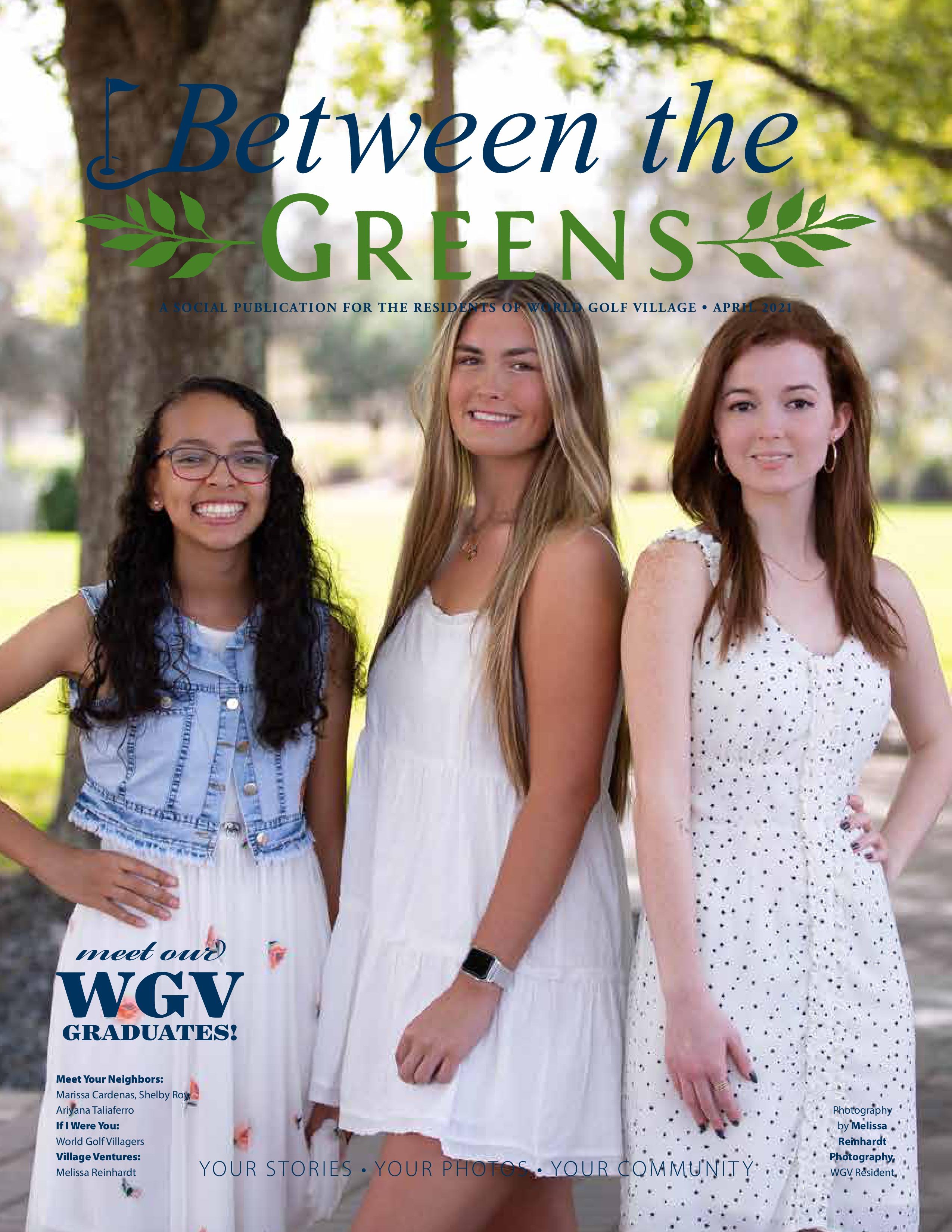 Between the Greens 2021-04-01