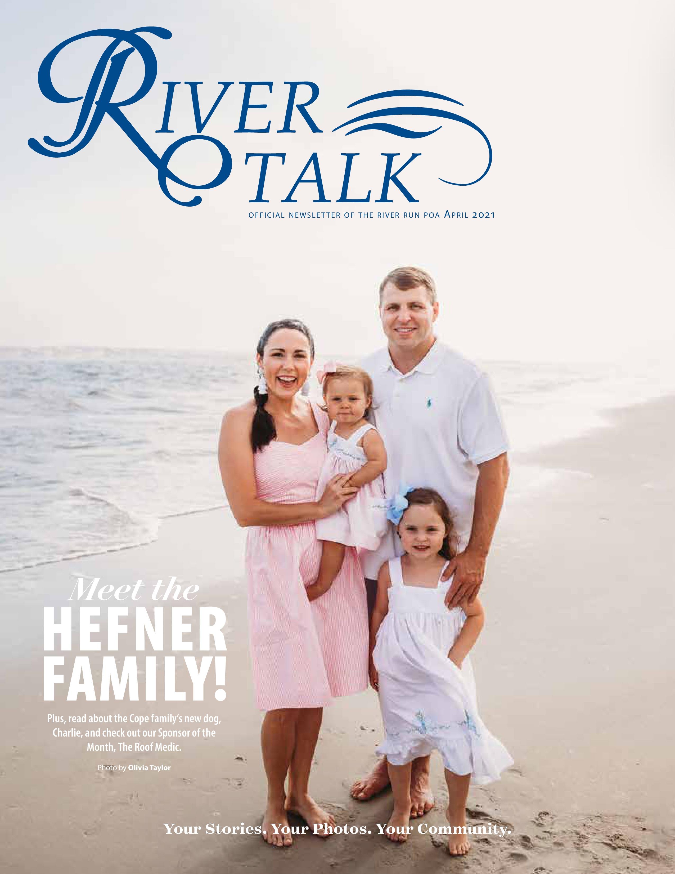 River Talk 2021-04-01