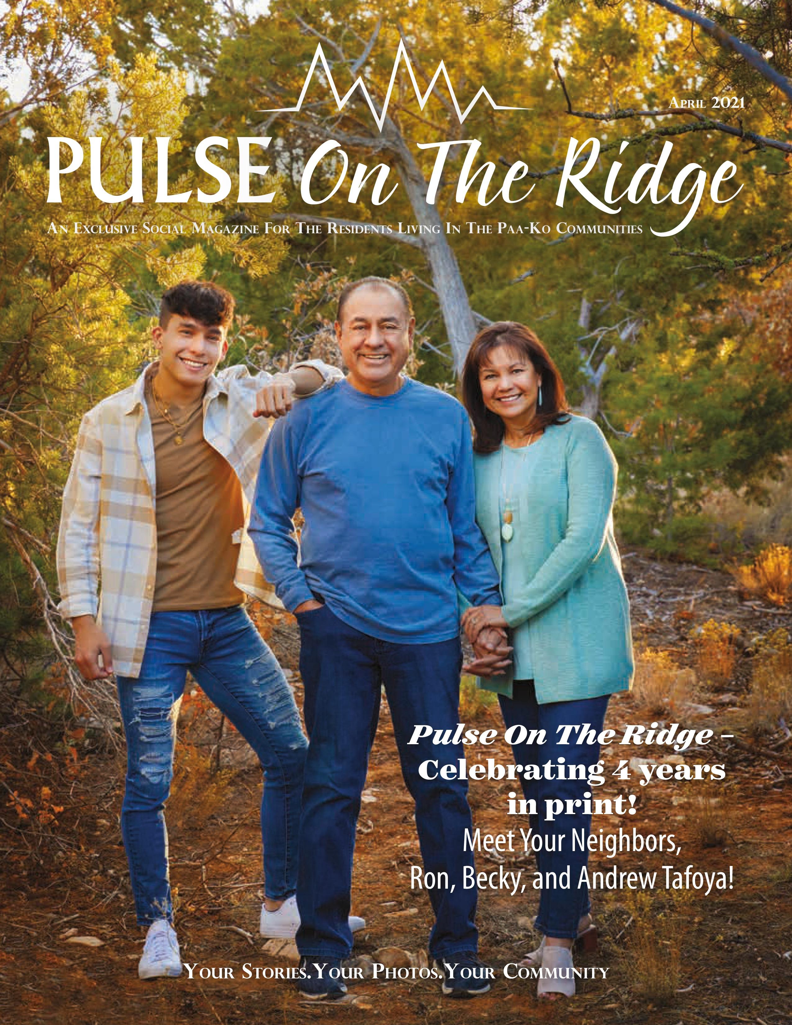 Pulse on the Ridge 2021-04-01