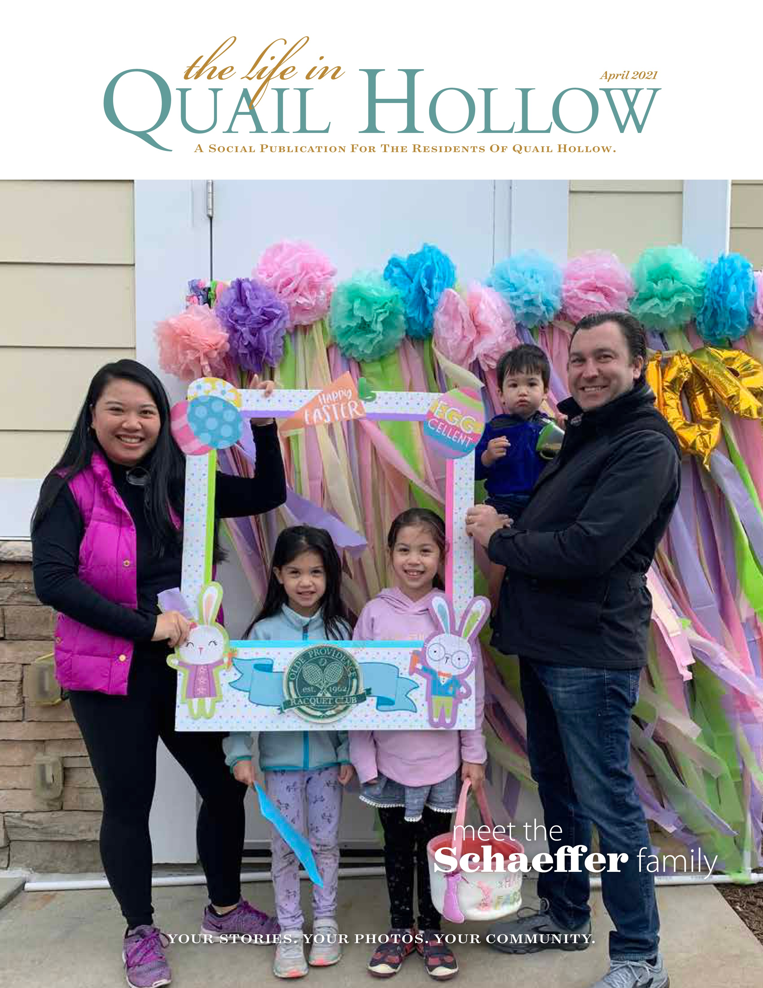 The Life in Quail Hollow 2021-04-01