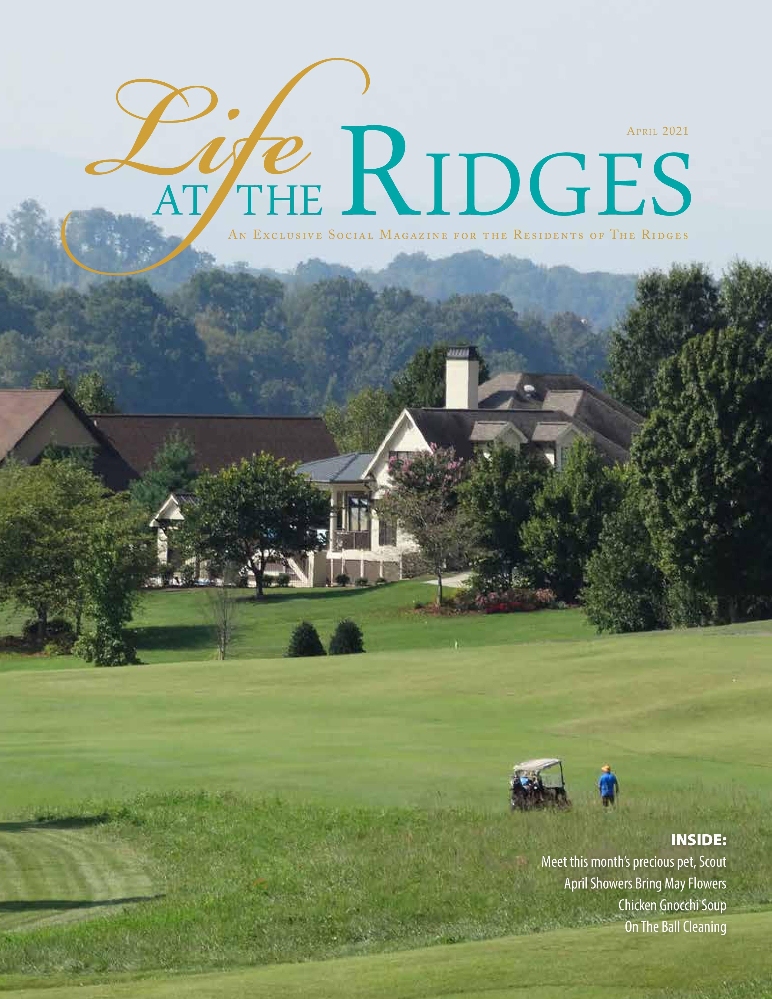 Life at the Ridges 2021-04-01