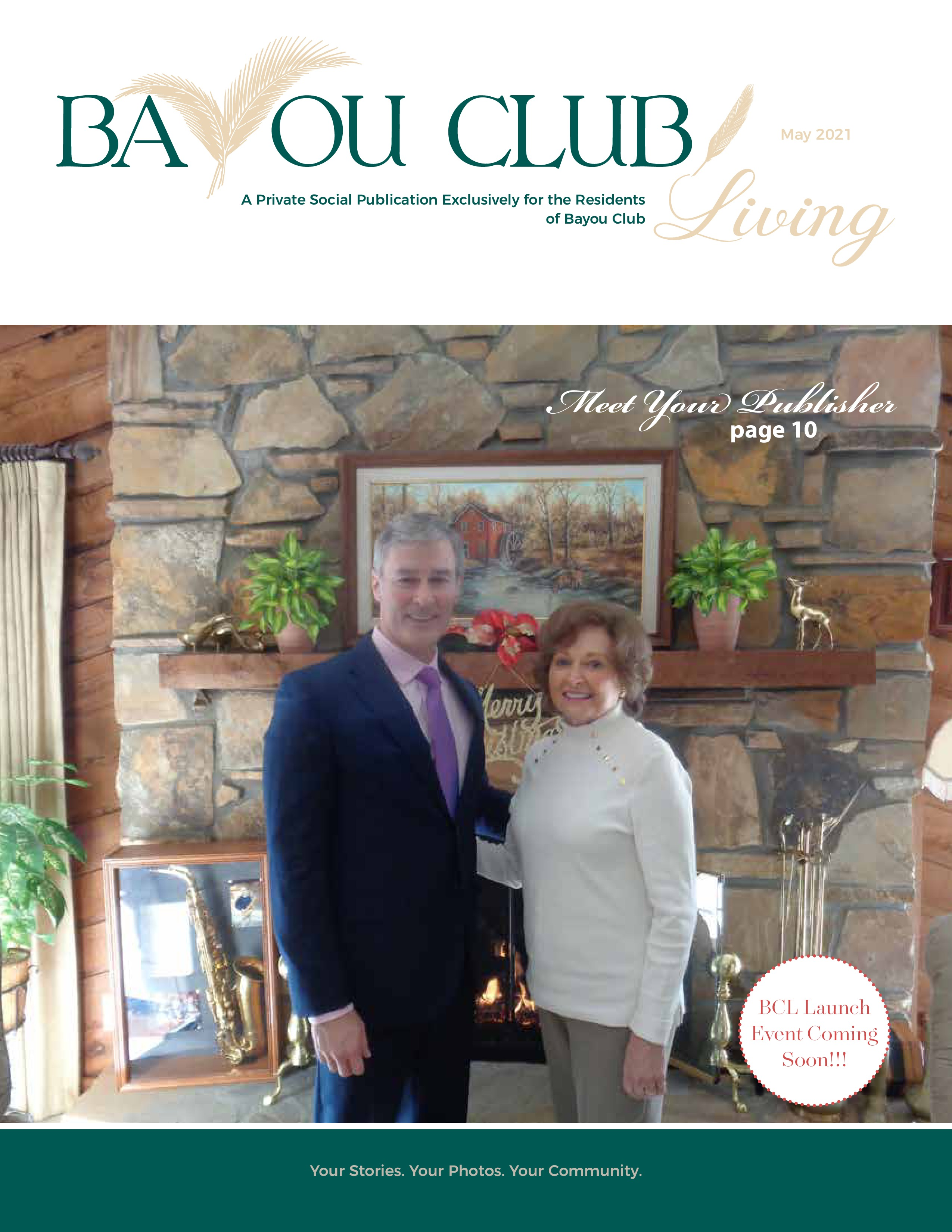 Bayou Club Living 2021-05-01