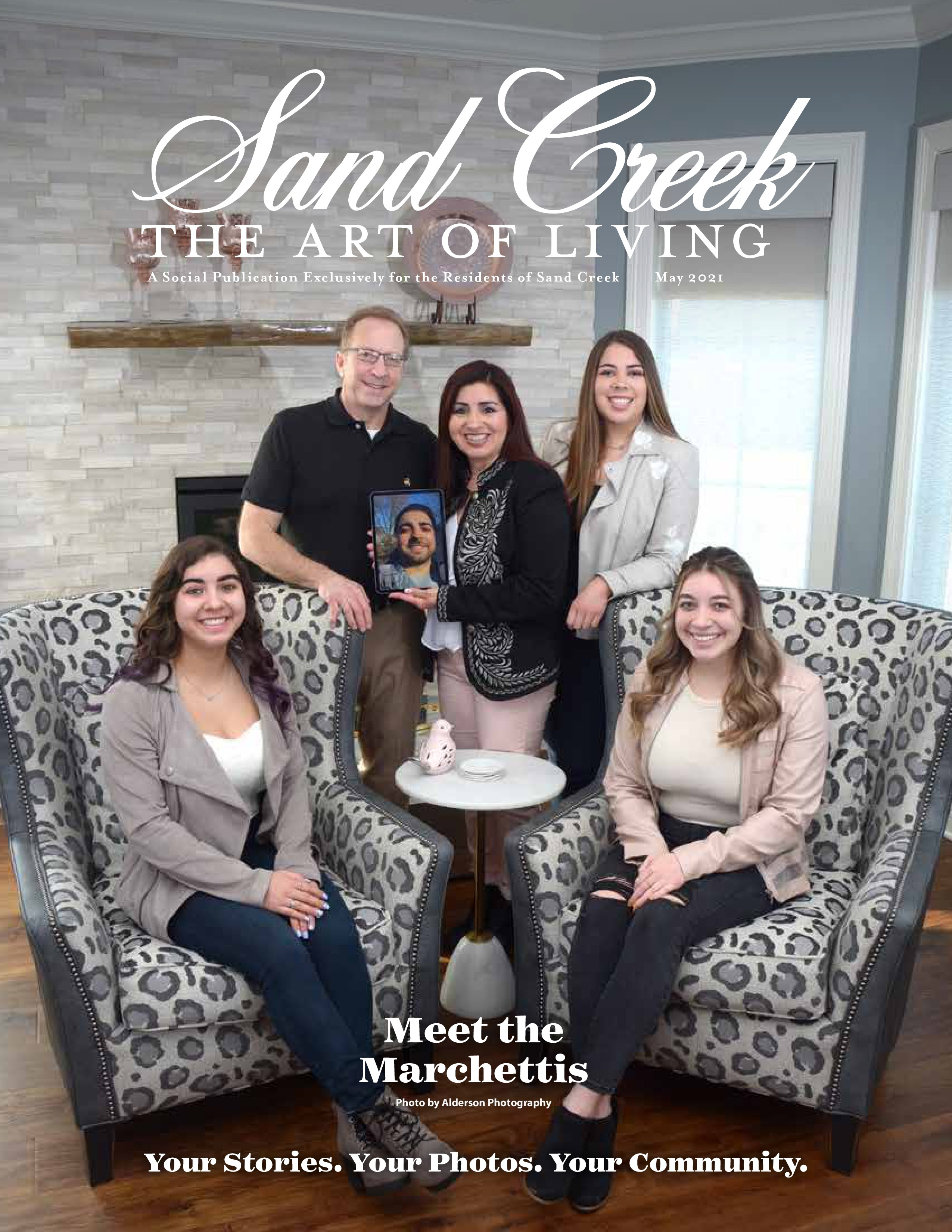 Sand Creek, The Art of Living 2021-05-01