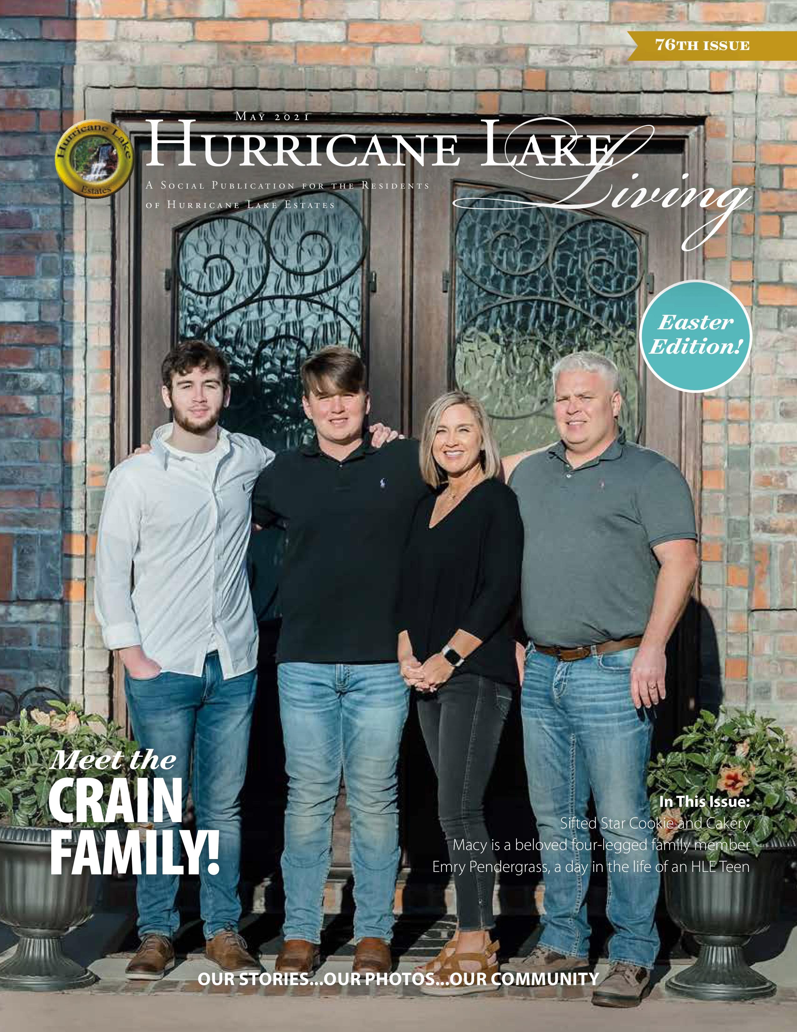 Hurricane Lake Living 2021-05-01
