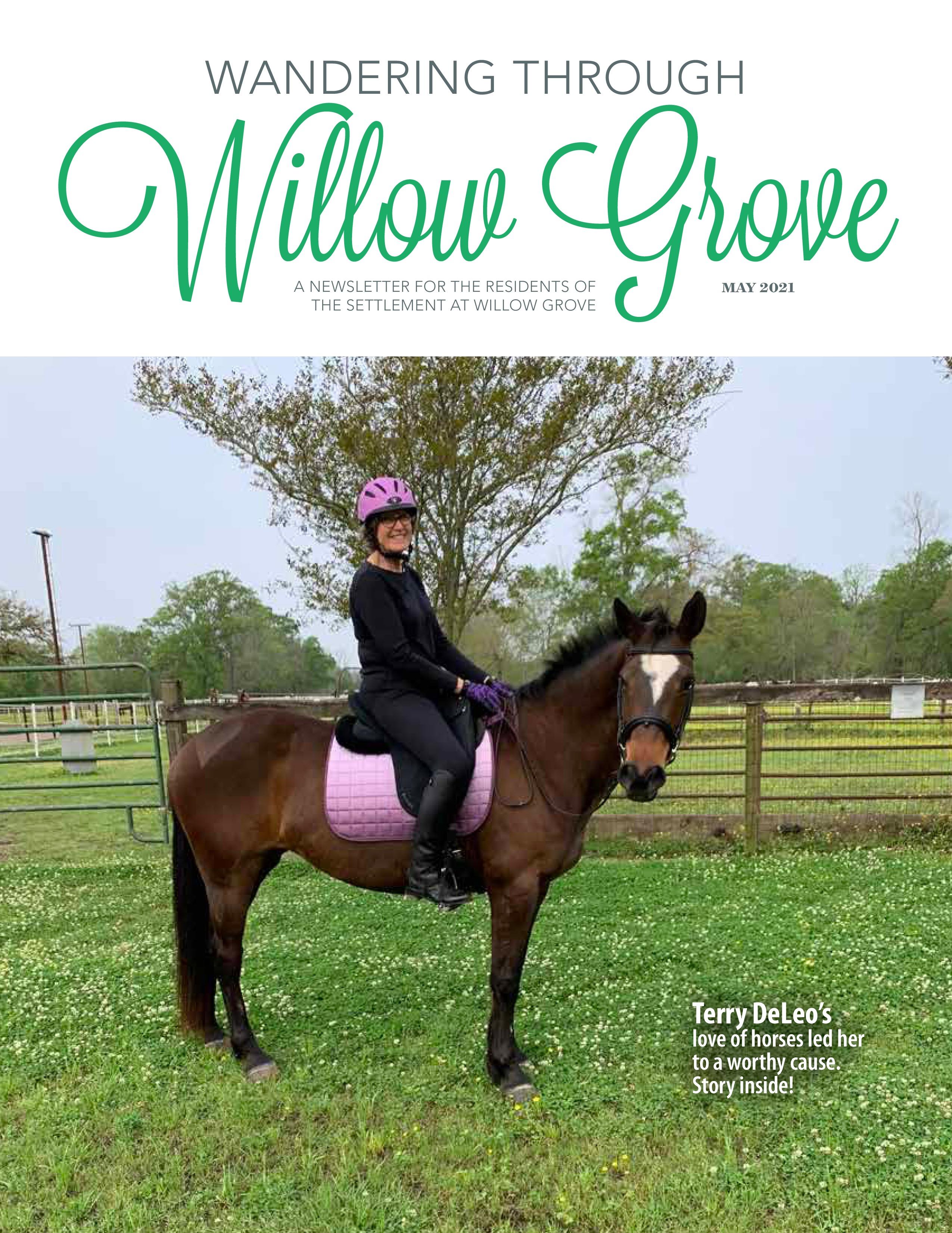 Wandering Through Willow Grove 2021-05-01