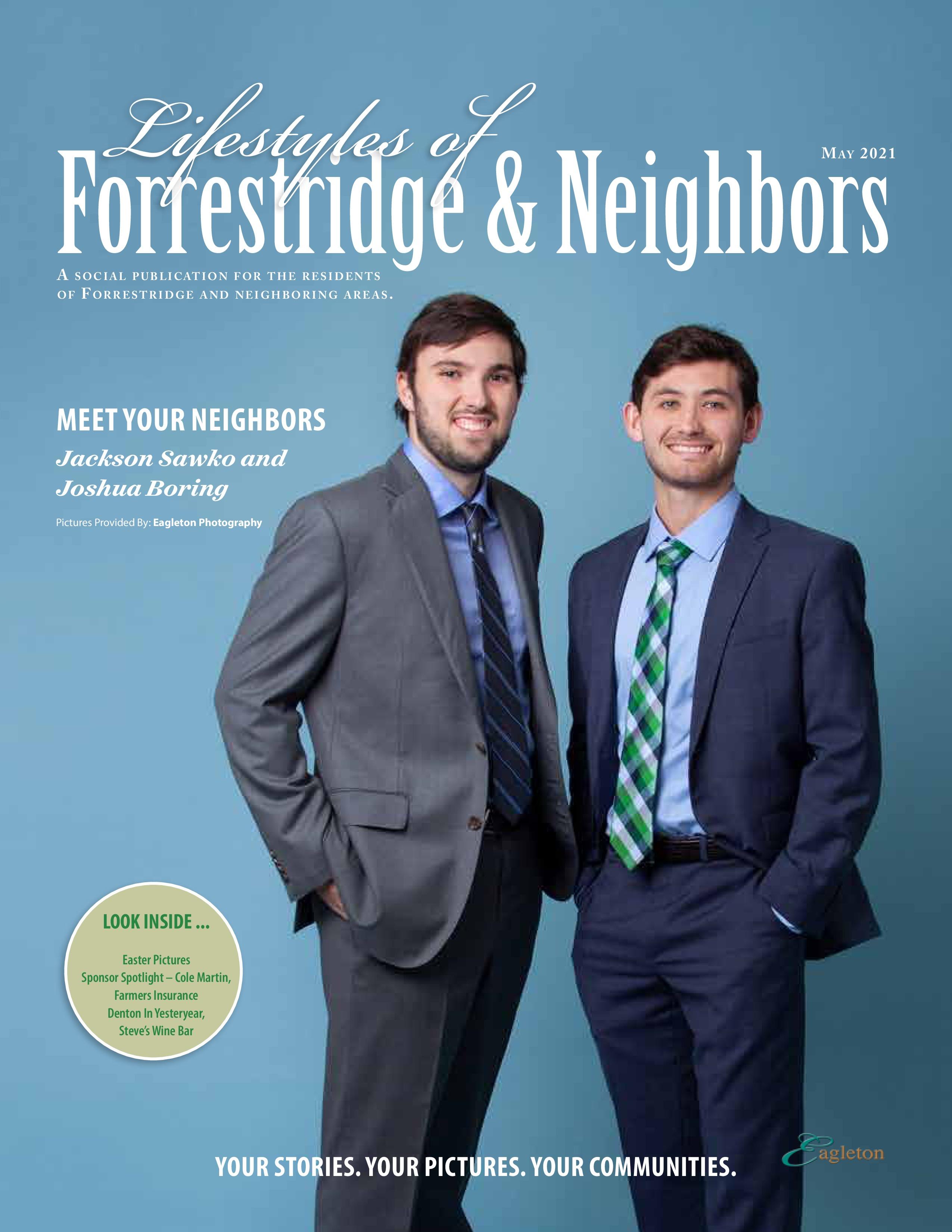 Lifestyles of Forrestridge and Neighbors 2021-05-01