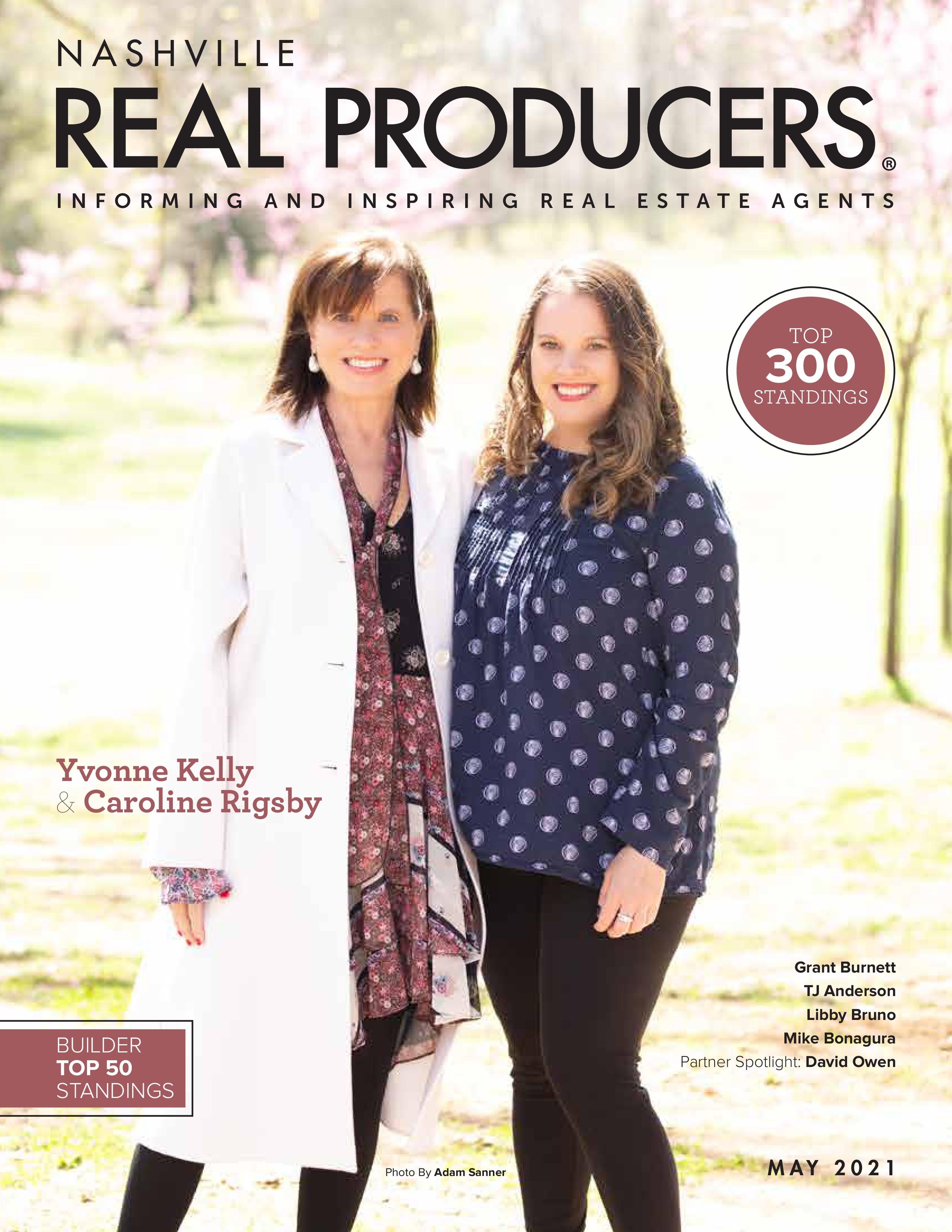 Nashville Real Producers 2021-05-01