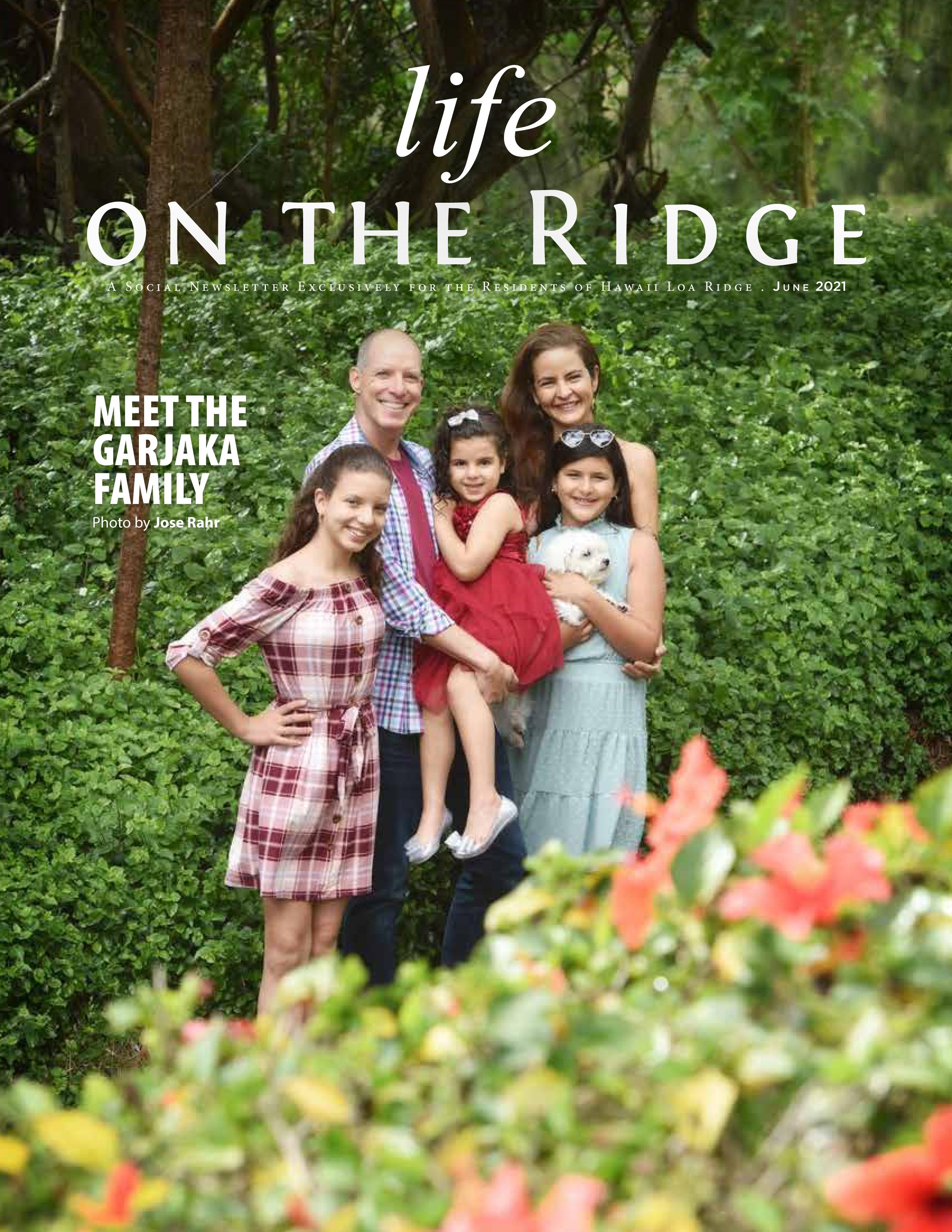 Life on the Ridge 2021-06-01