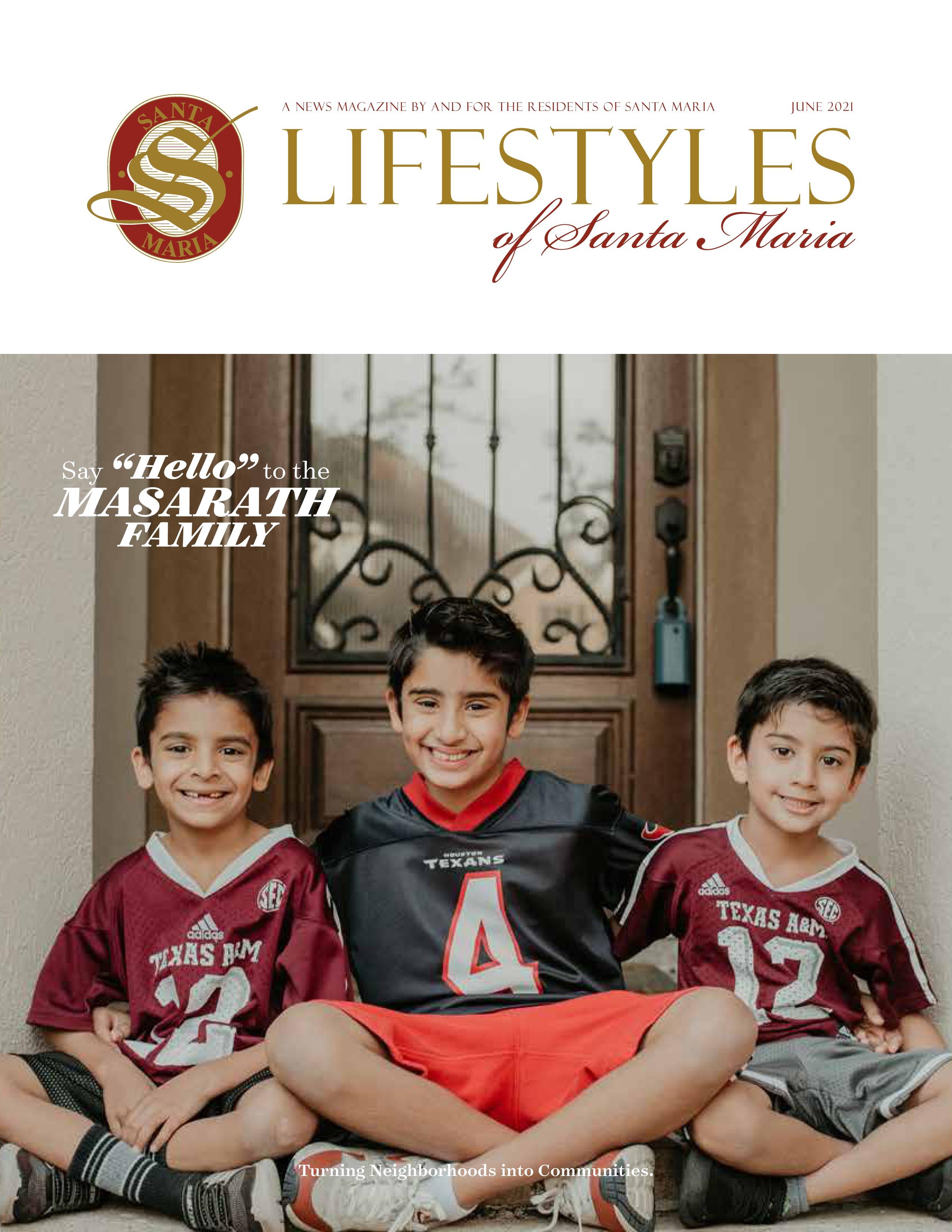 Lifestyles of Santa Maria 2021-06-01
