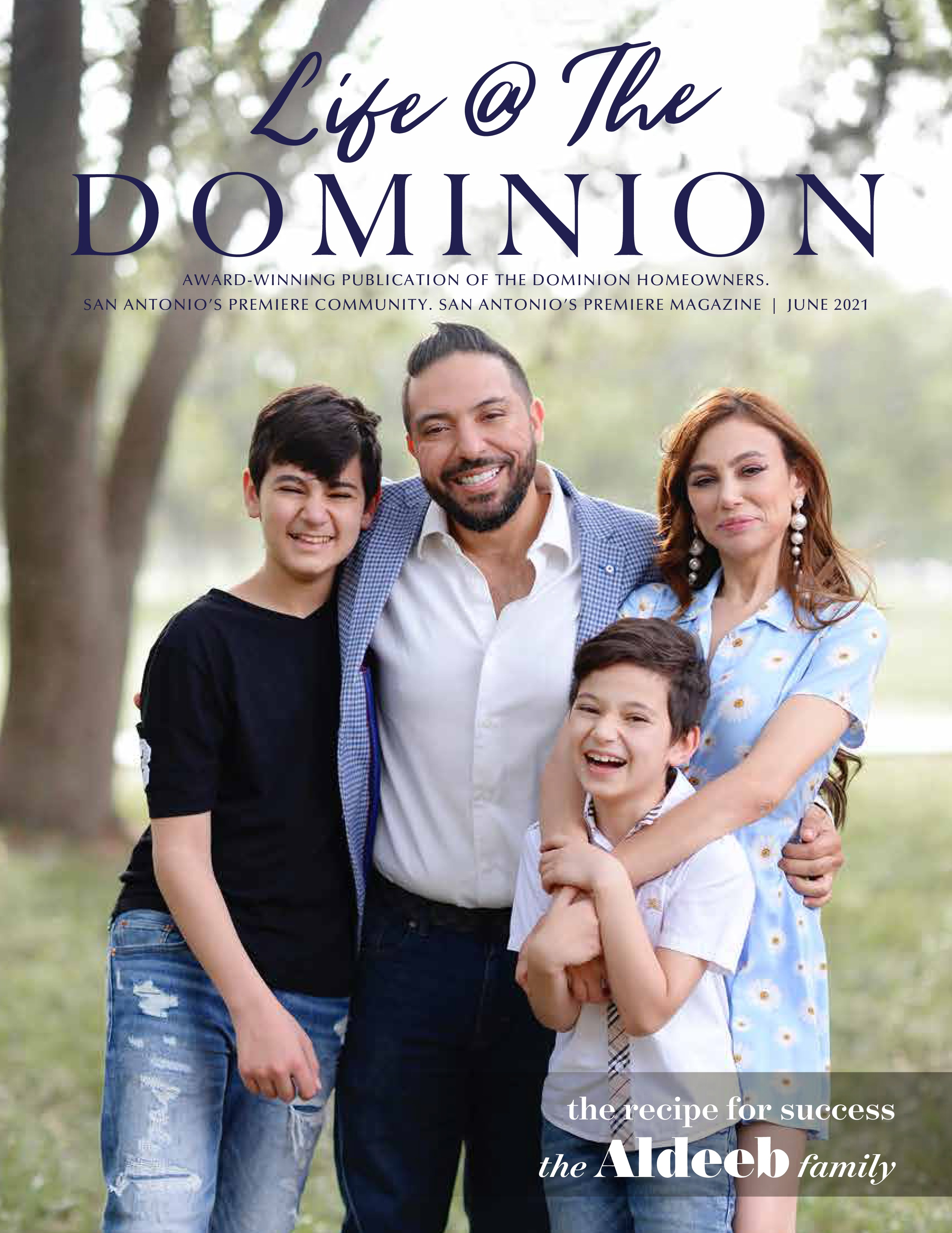 Life at The Dominion 2021-06-01