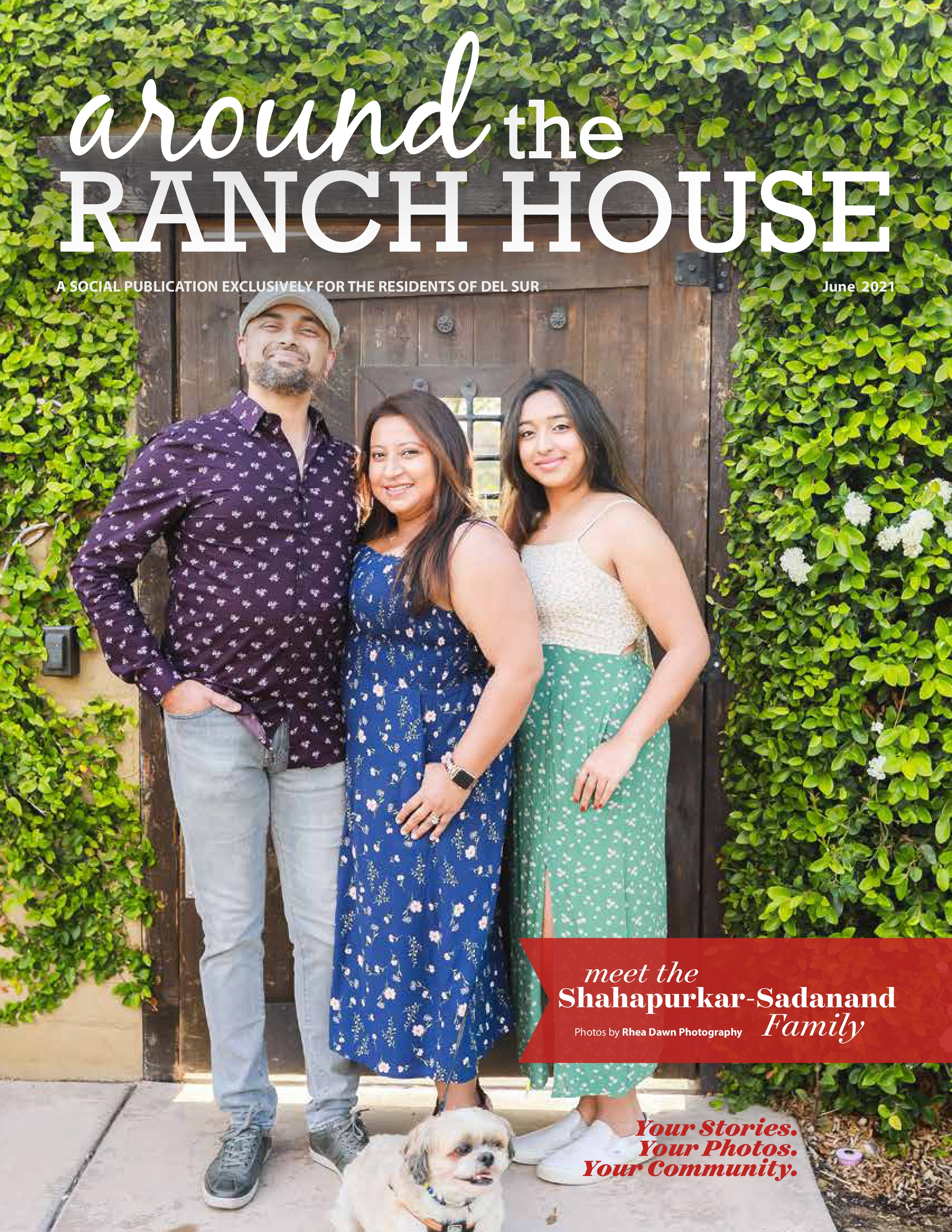 Around the Ranch House 2021-06-01