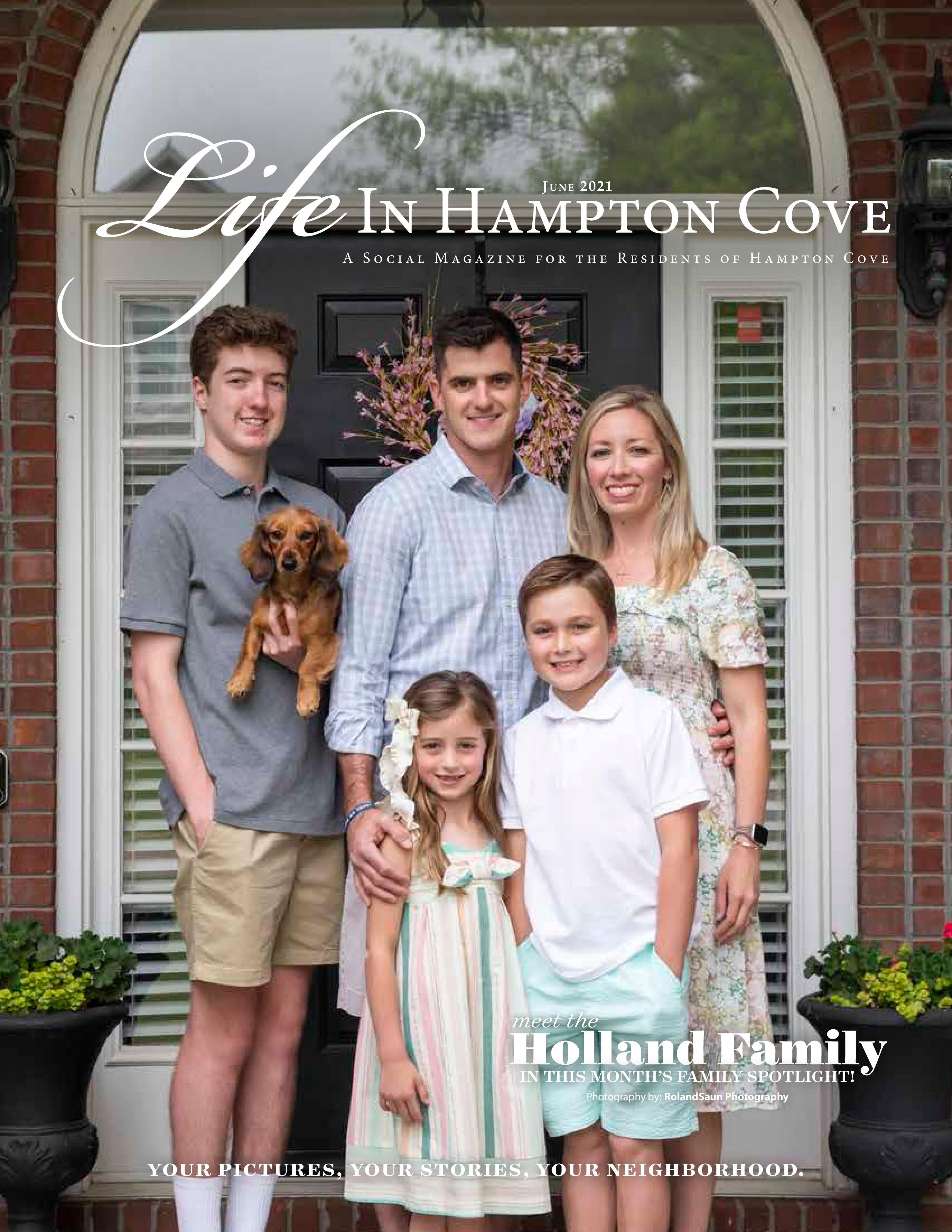Life in Hampton Cove 2021-06-01