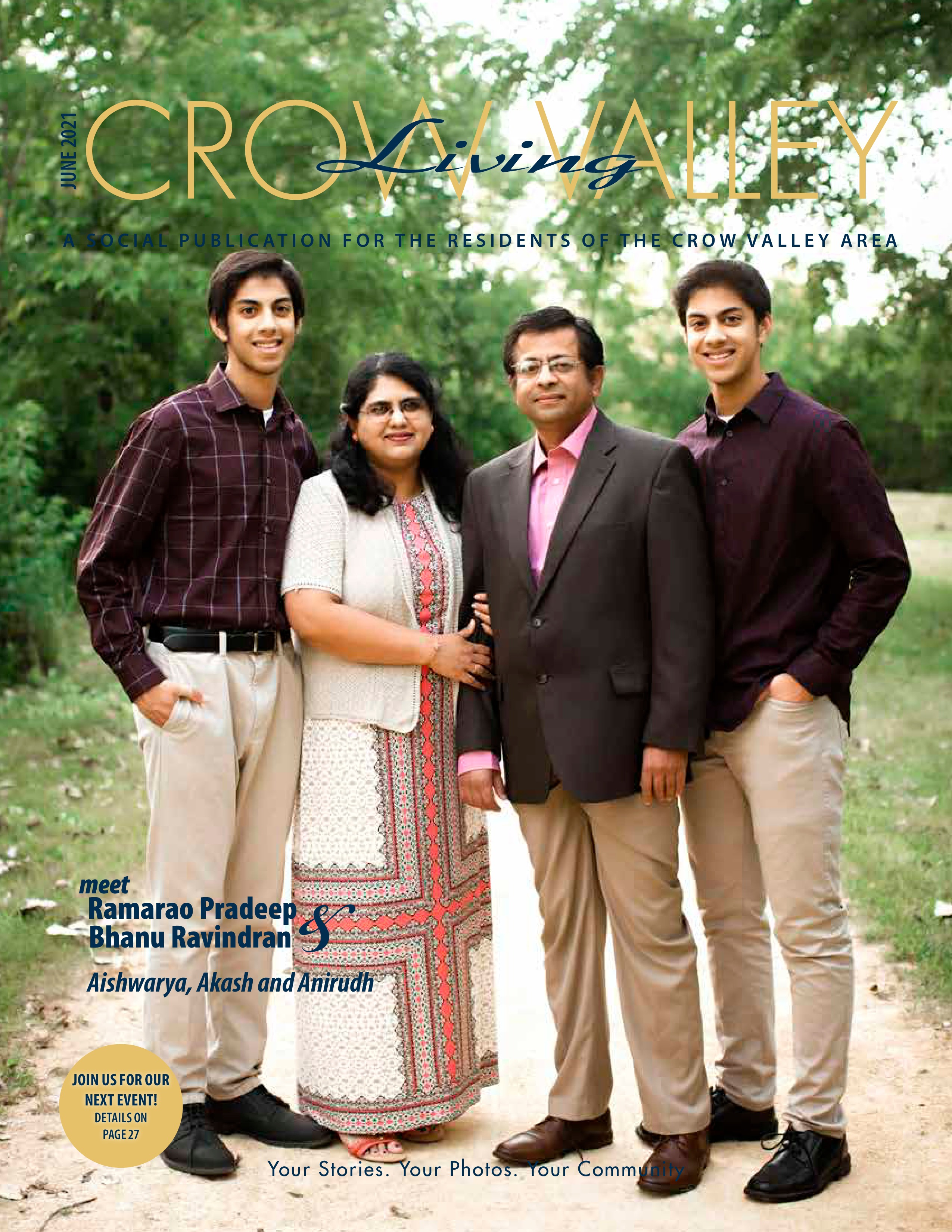 Crow Valley Living 2021-06-01