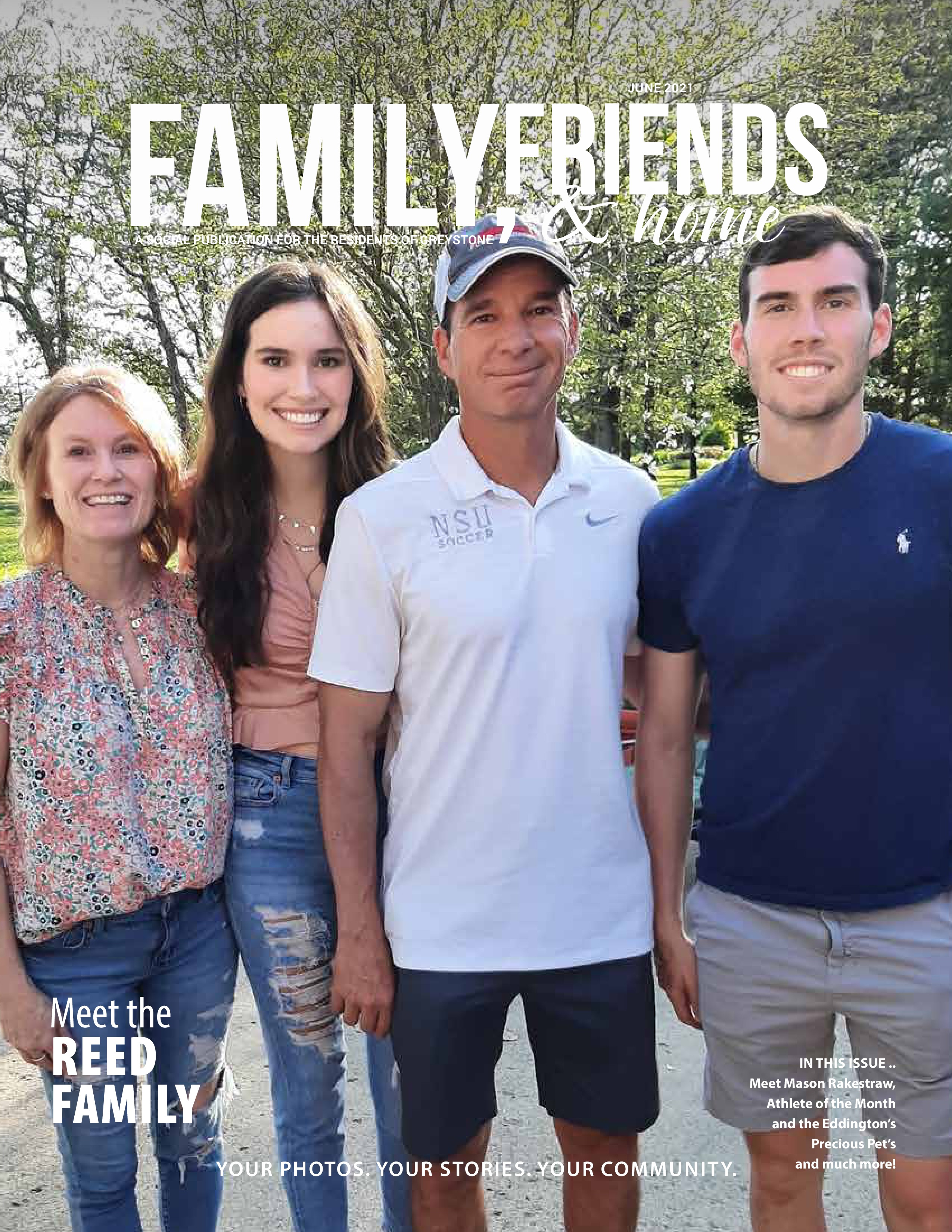 Family, Friends & Home 2021-06-01