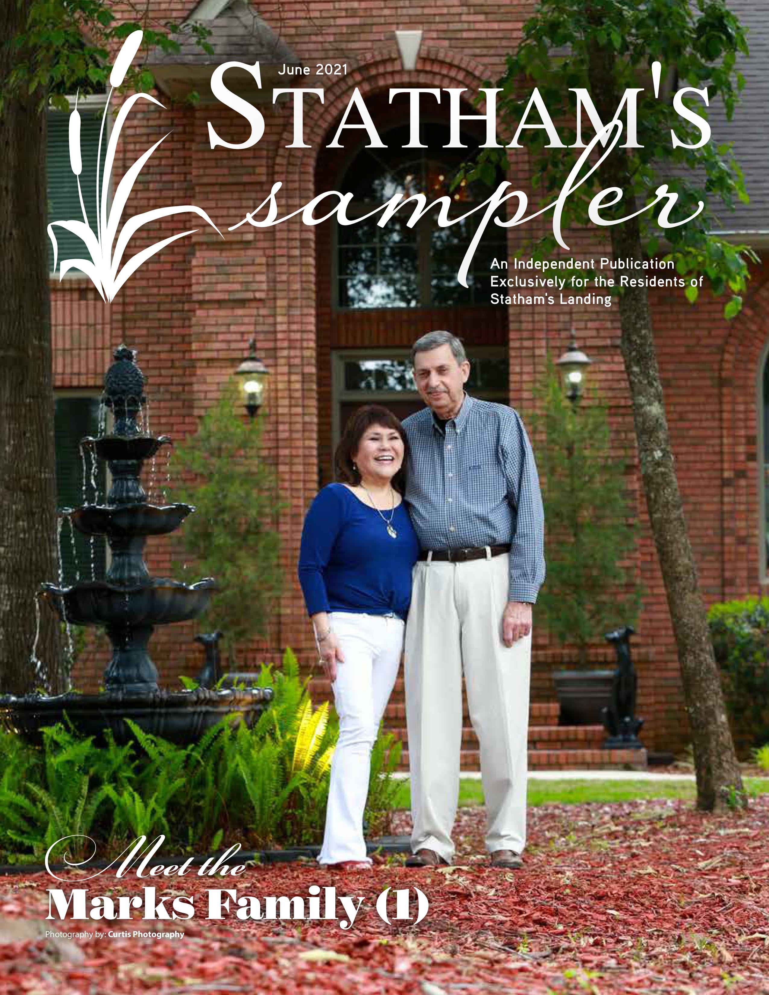 Statham's Sampler 2021-06-01