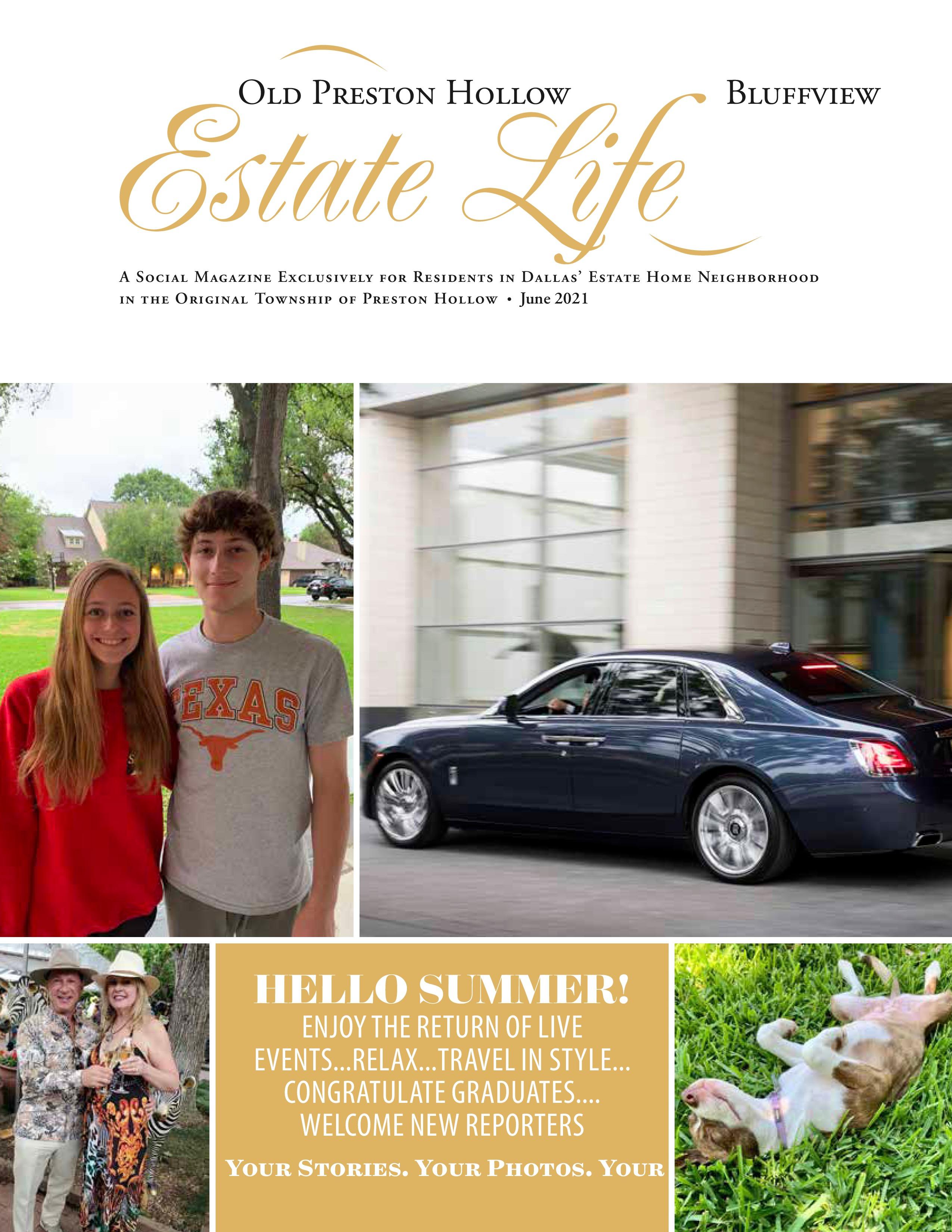 Old Preston Hollow Bluffview Estate Life 2021-06-01