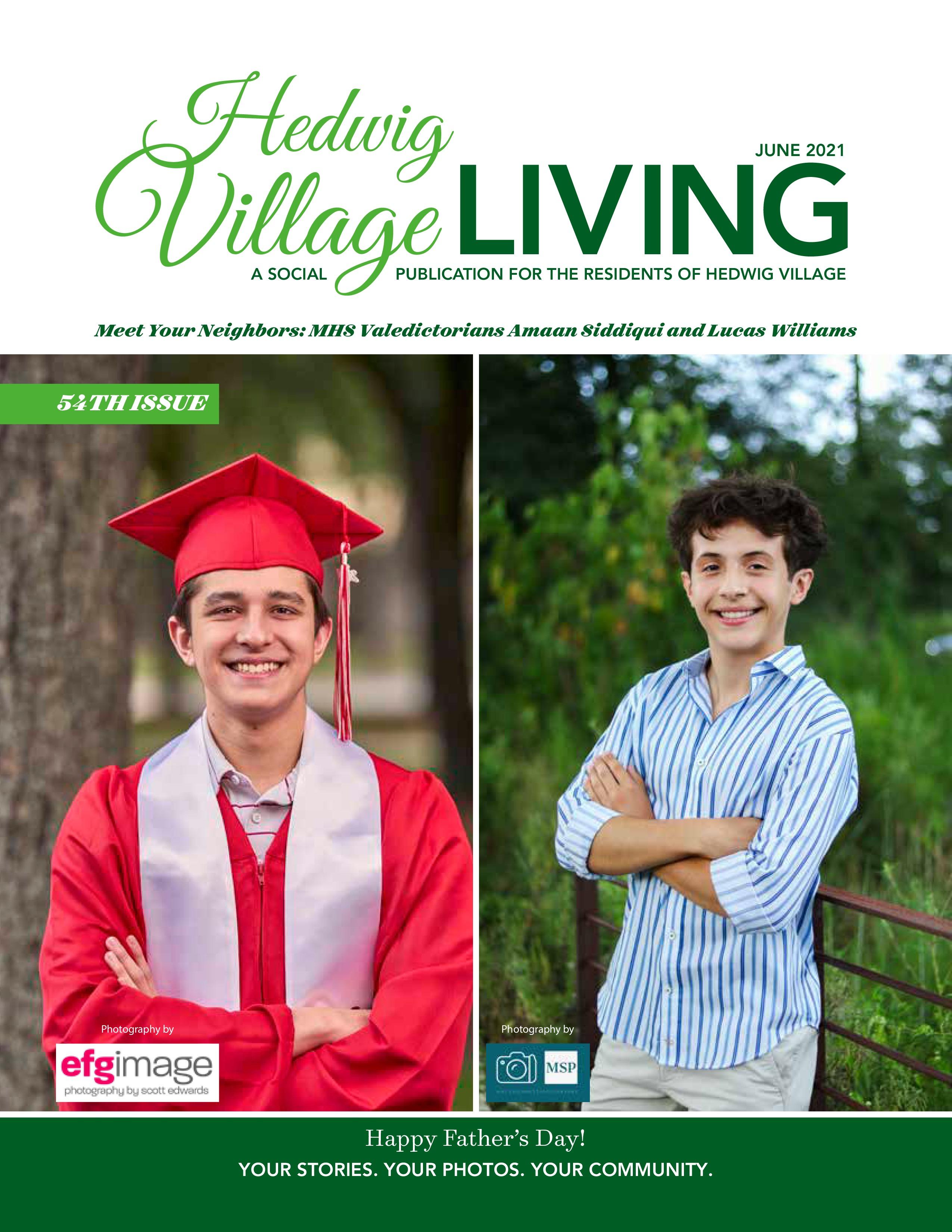 Hedwig Village Living 2021-06-01