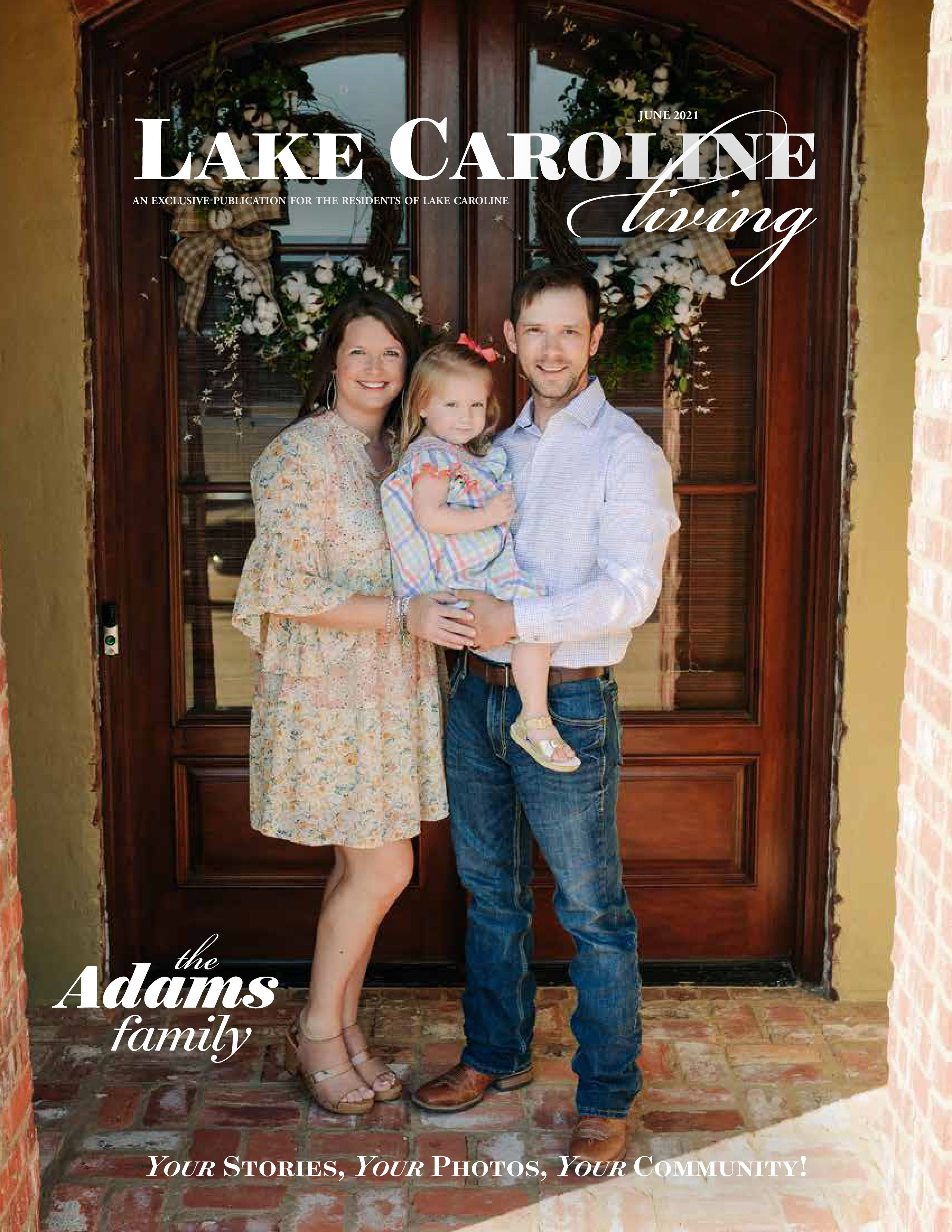 Lake Caroline Living 2021-06-01