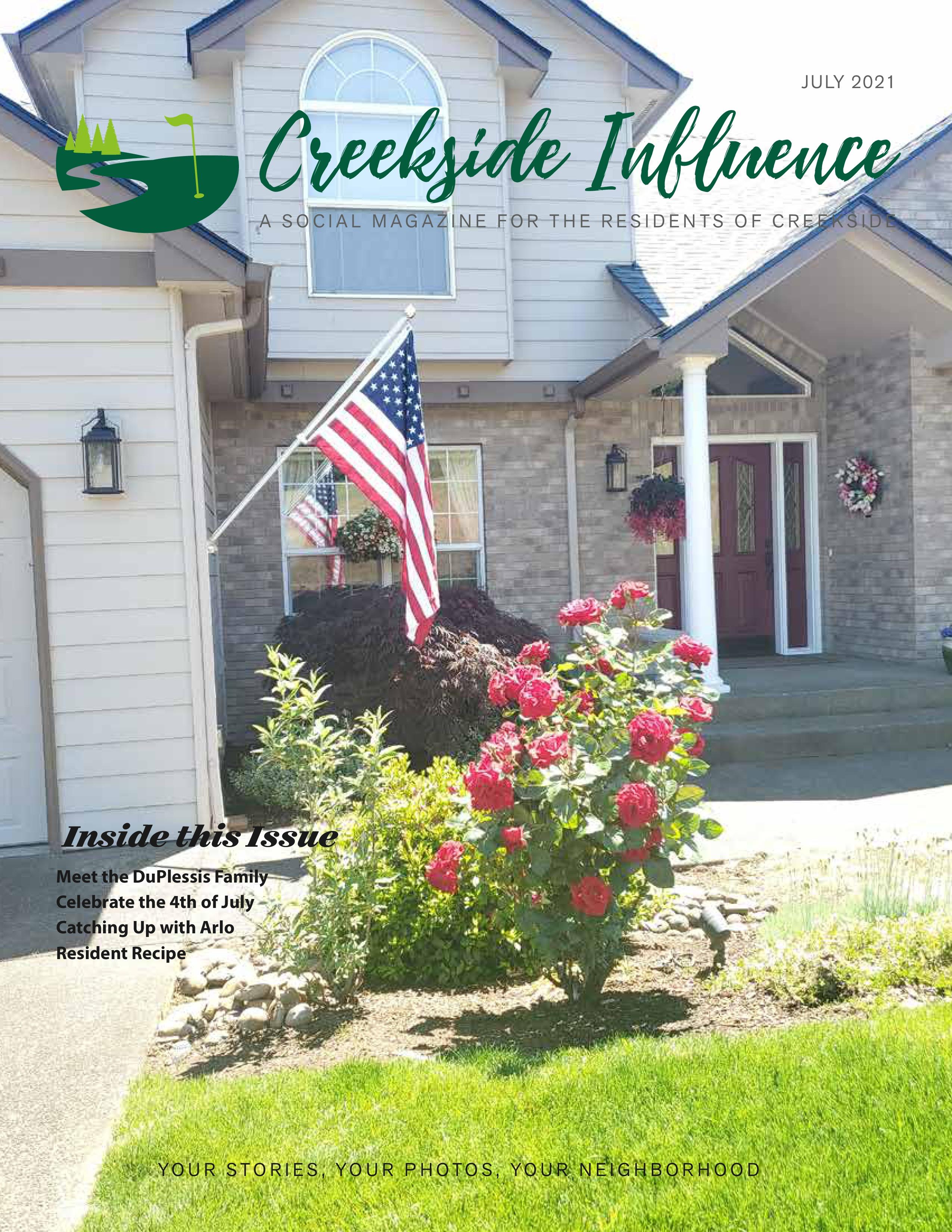 Creekside Influence 2021-07-01