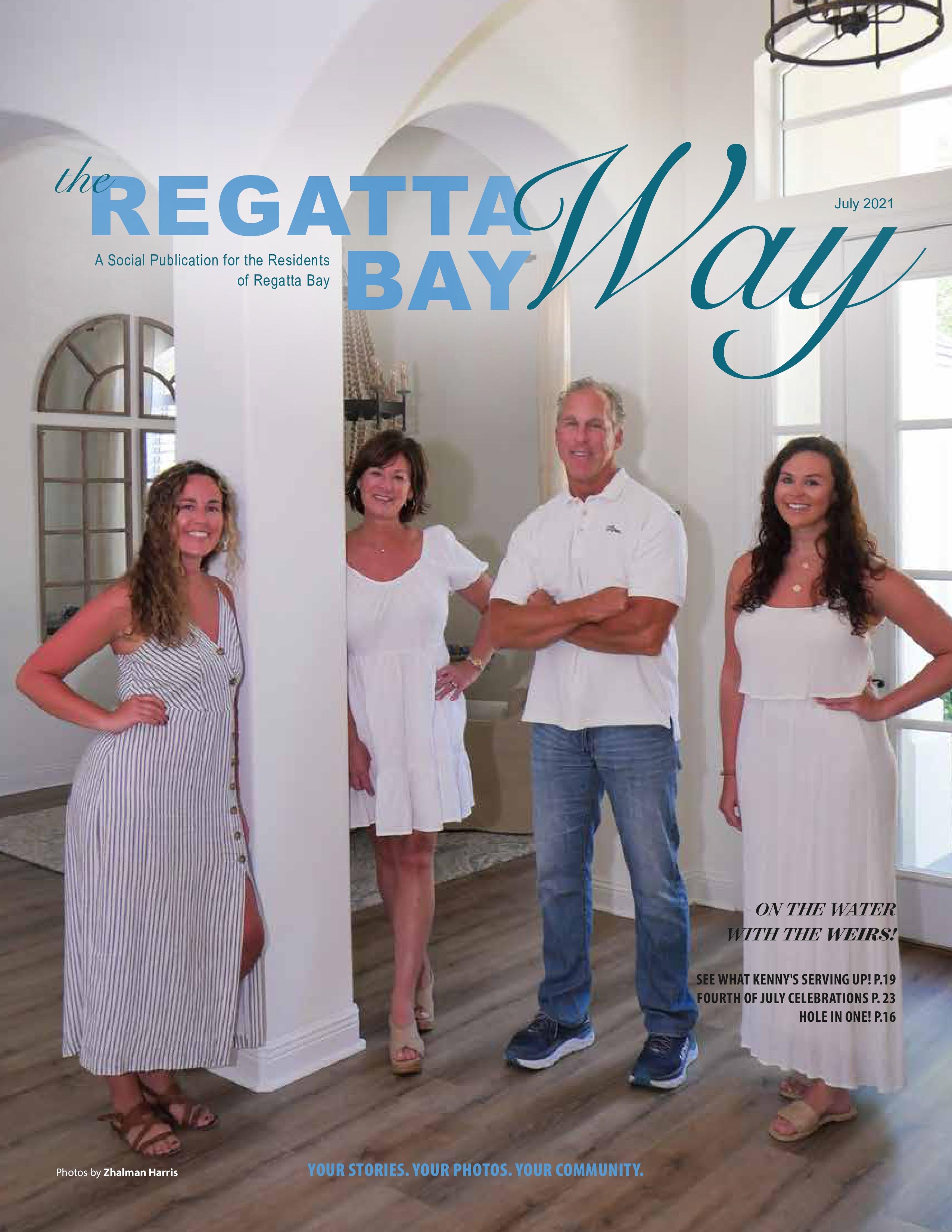 The Regatta Bay Way 2021-07-01