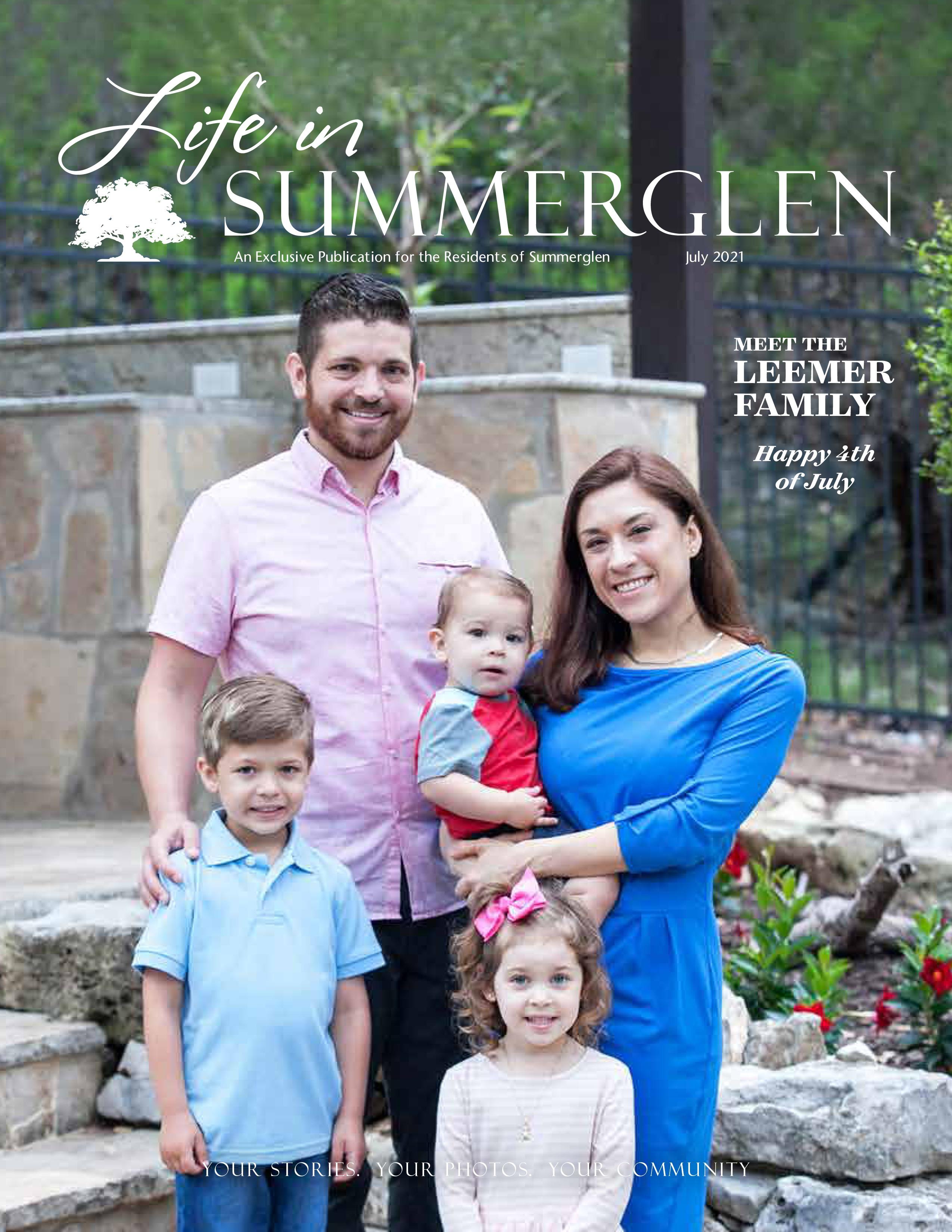 Life in Summerglen 2021-07-01